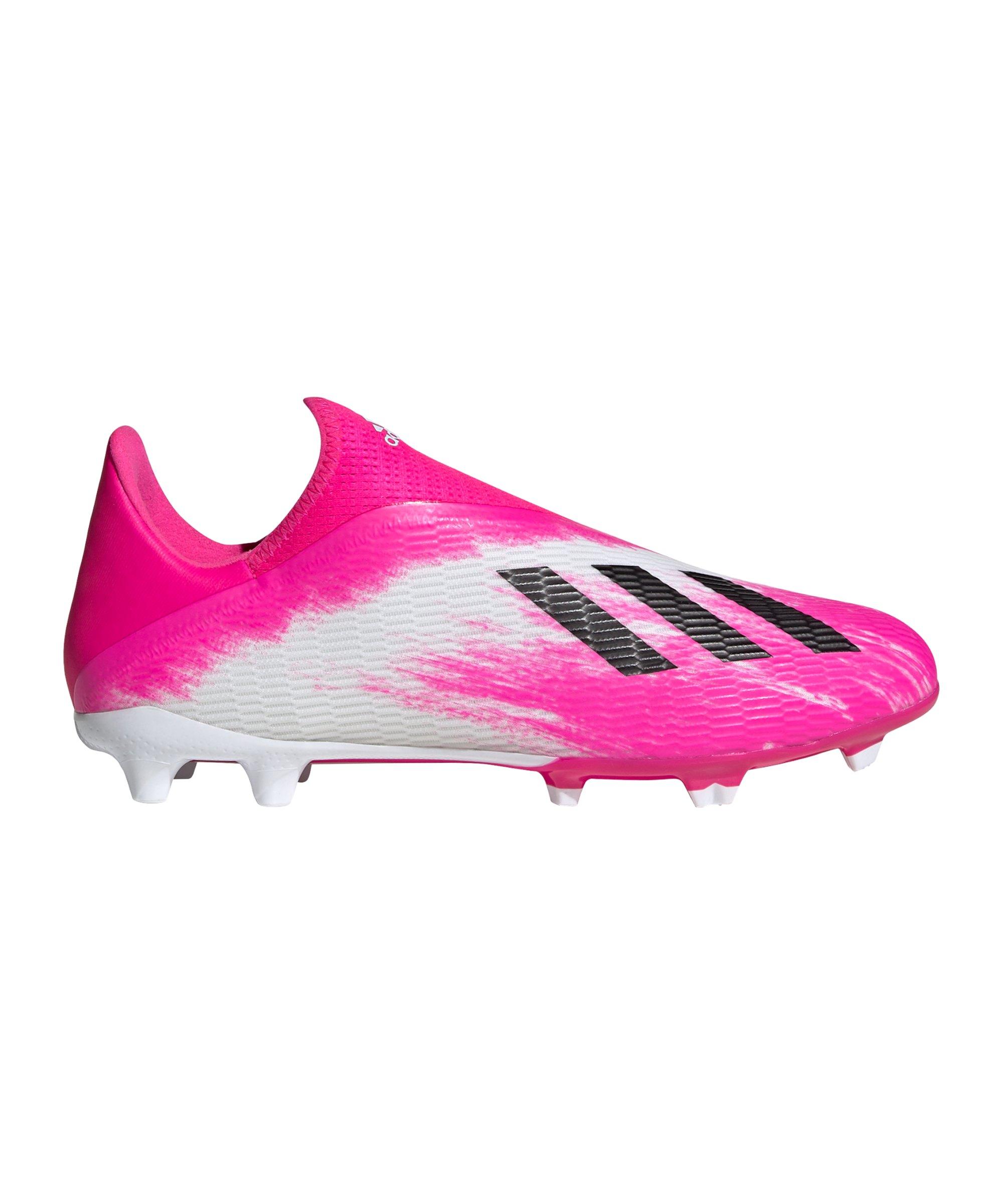 adidas X Uniforia 19.3 LL FG Weiss Pink - weiss