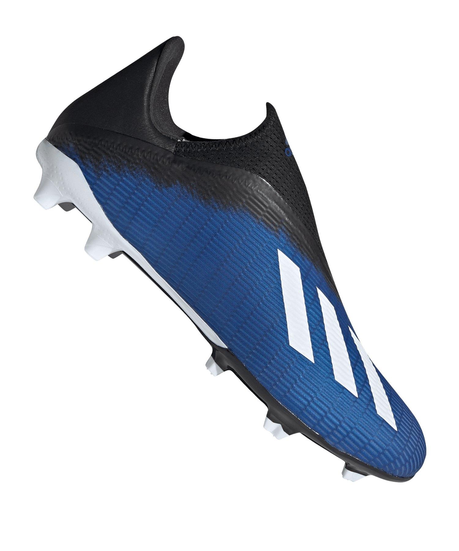 adidas X 19.3 LL FG Blau Schwarz - blau