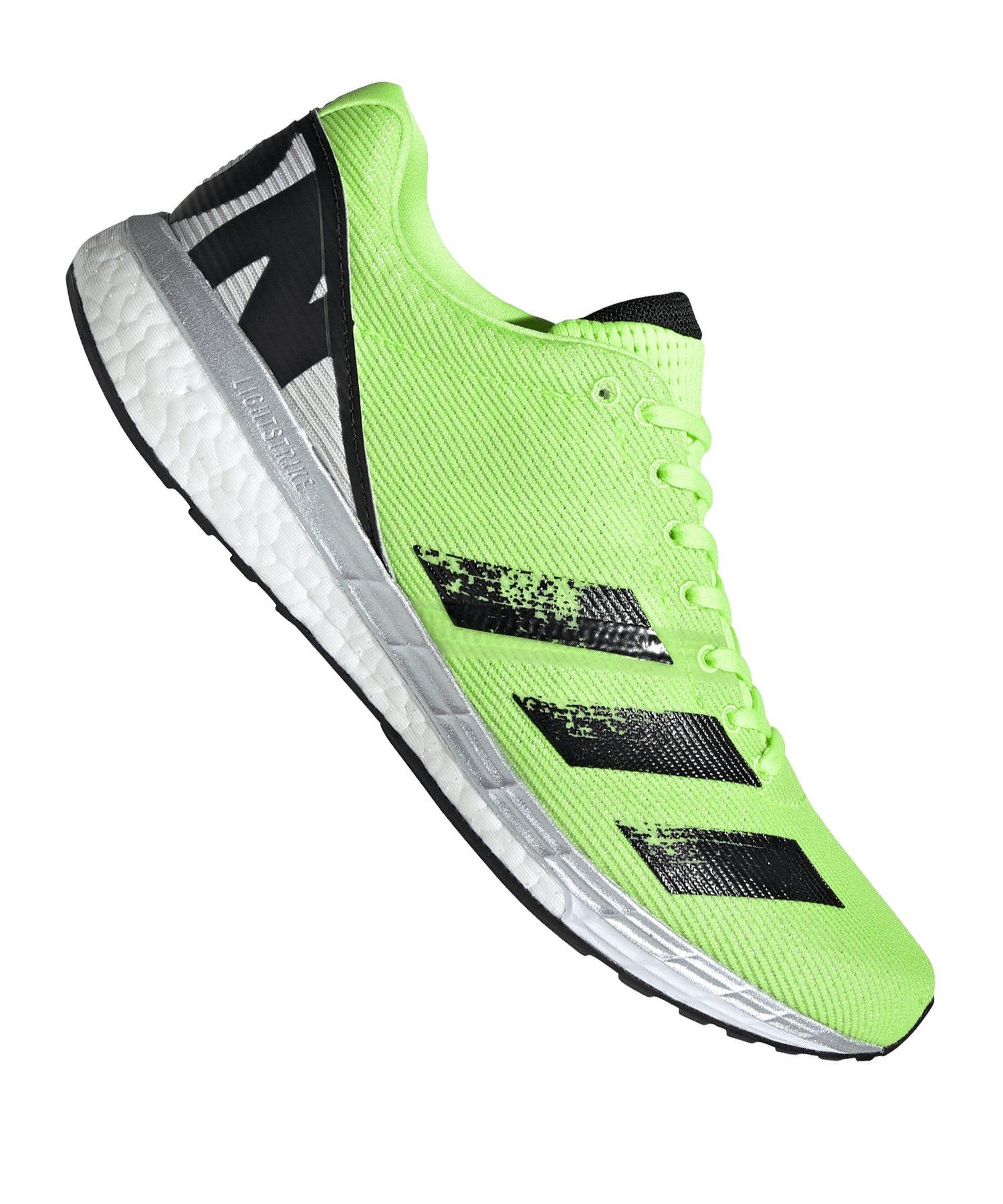 adidas Adizero Boston 8 Running Grün - gruen