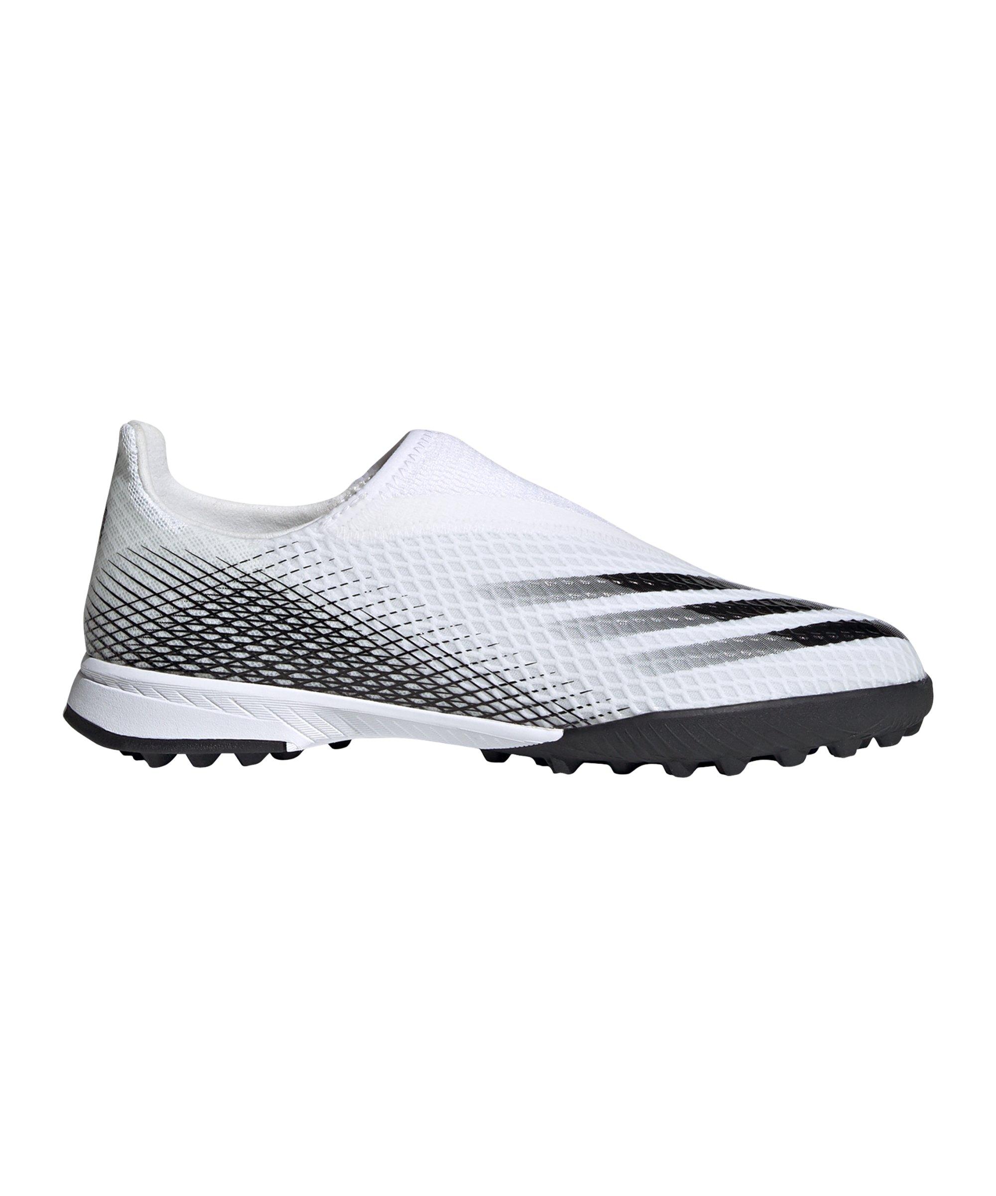 adidas X GHOSTED.3 LL TF Inflight J Kids Weiss - weiss