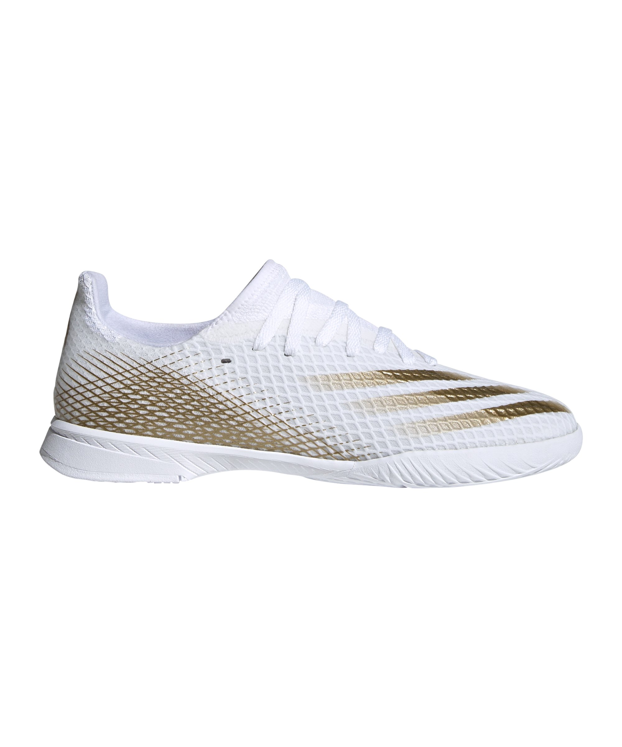 adidas X GHOSTED.3 LL IN Halle Inflight J Kids - weiss