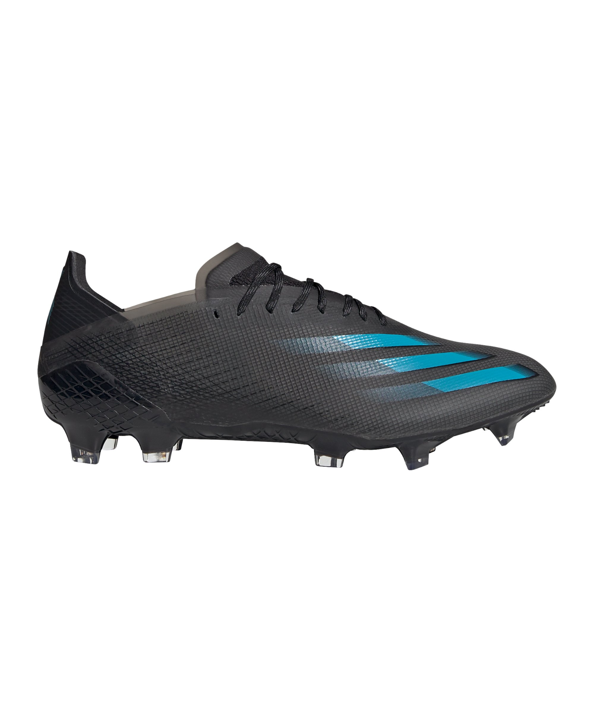adidas X GHOSTED.1 FG Dark Motion Schwarz Blau - schwarz