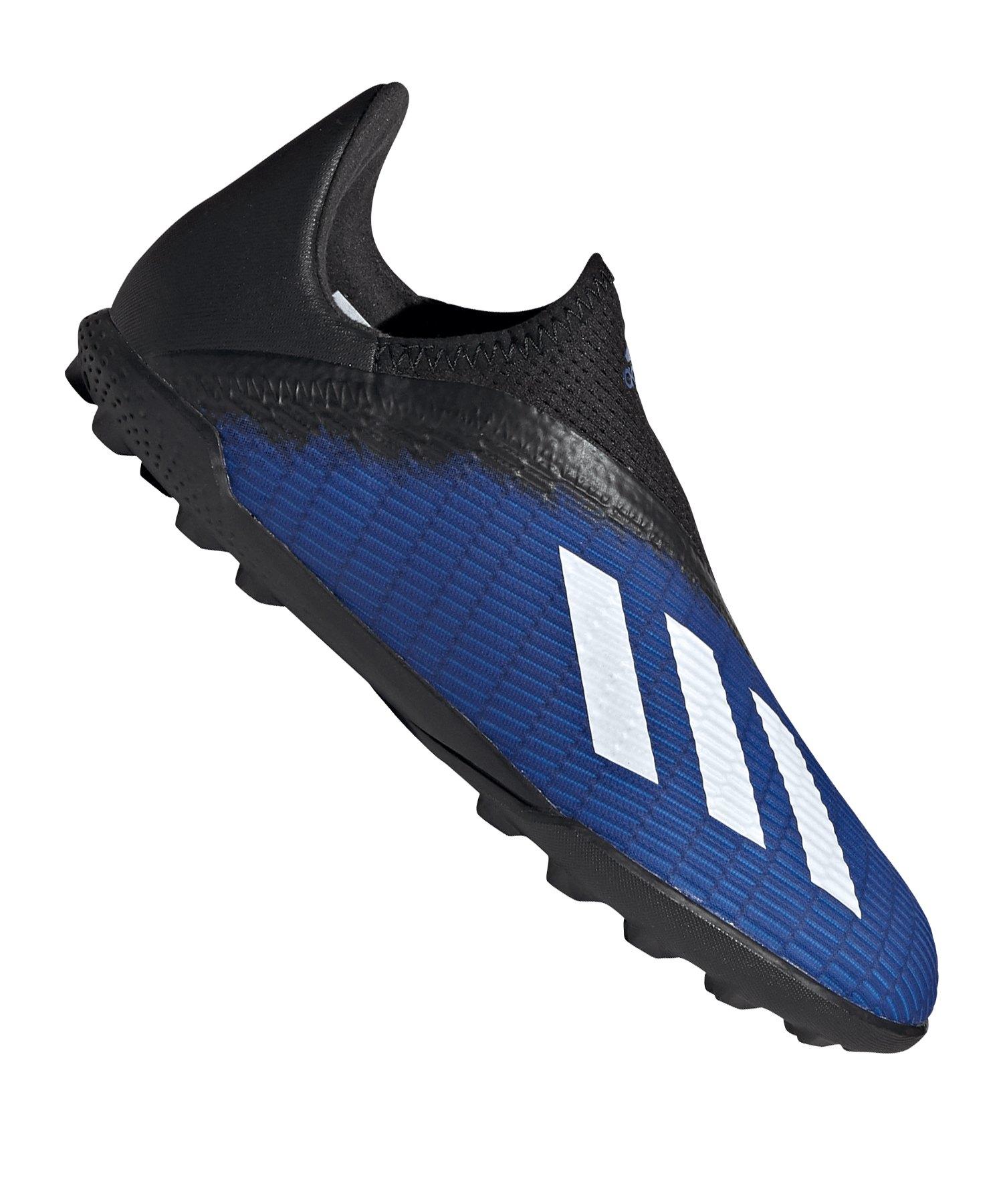 adidas X 19.3 LL TF J Kids Blau Schwarz - blau
