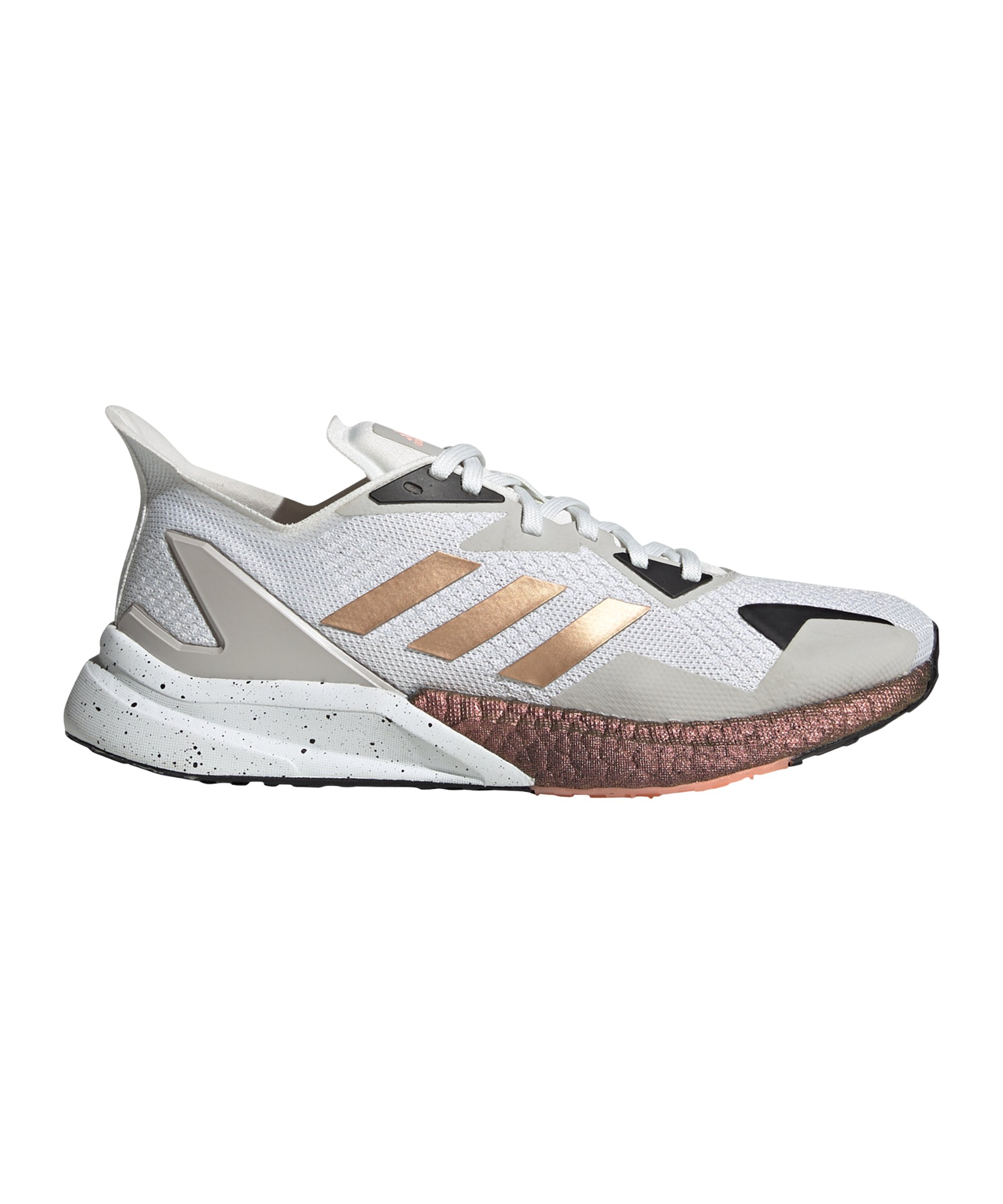 adidas x9000L3 Running Damen Weiss Rosa - weiss