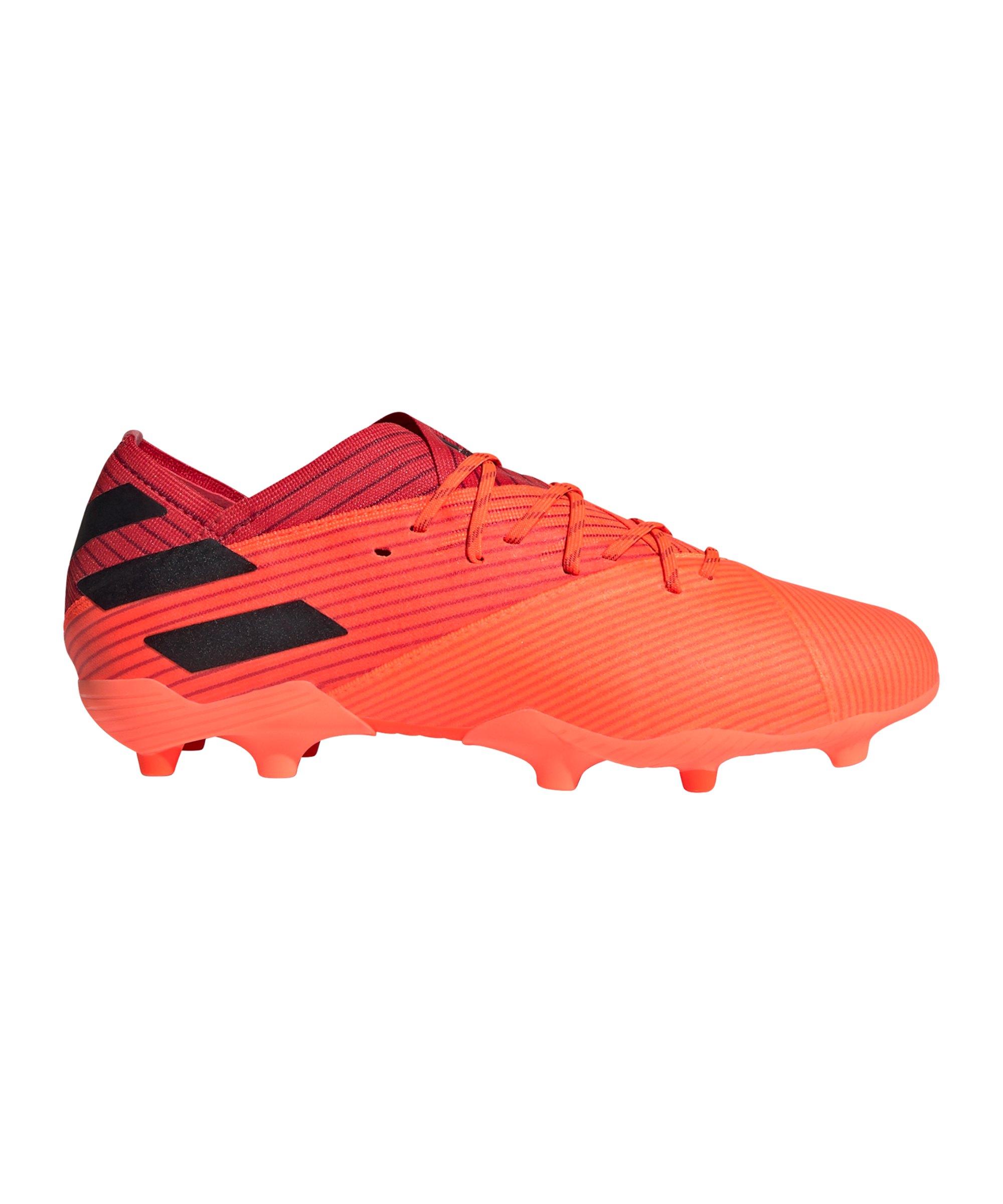 adidas NEMEZIZ Inflight 19.1 FG J Kids Orange - orange