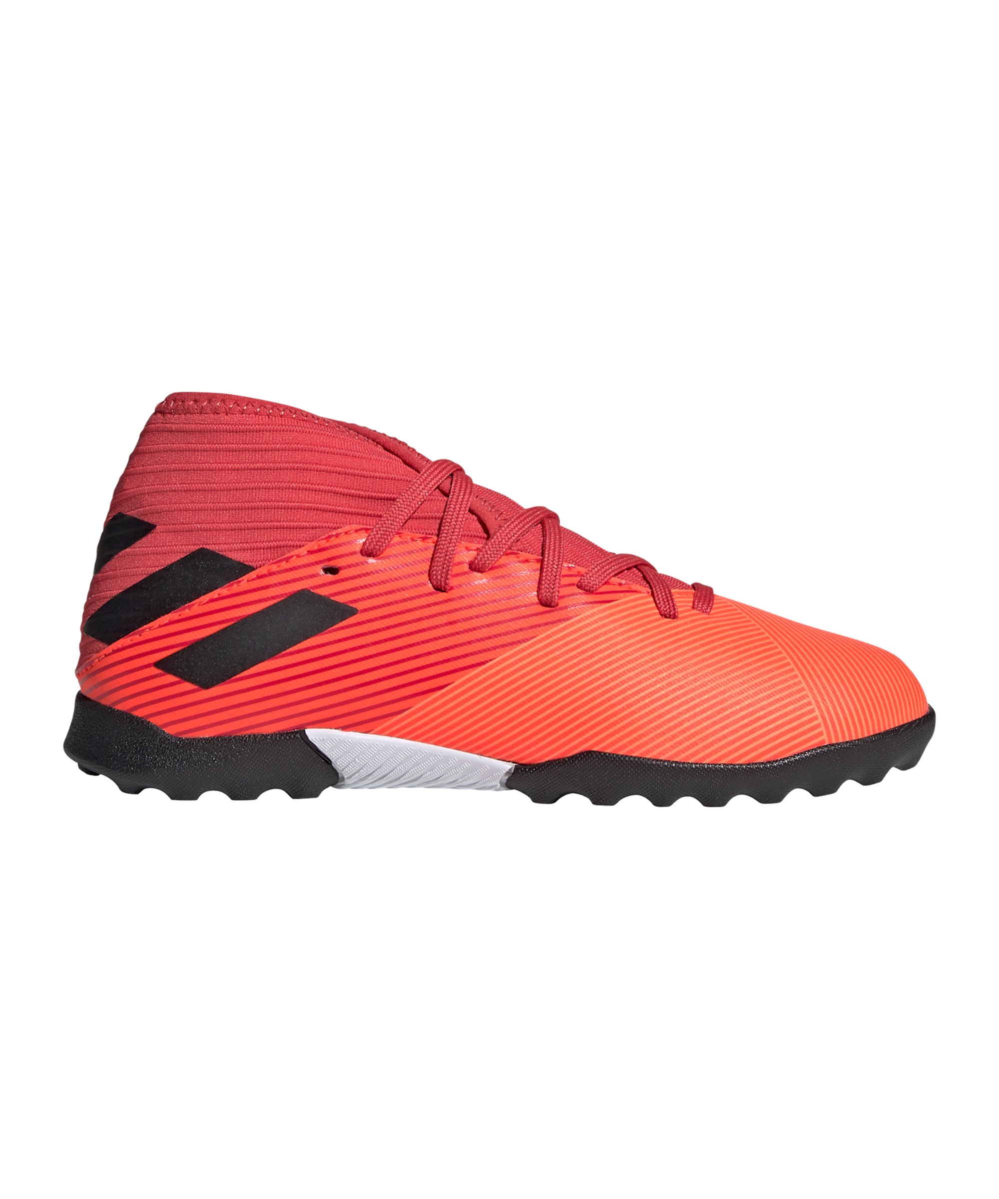 adidas NEMEZIZ Inflight 19.3 TF J Kids Orange - orange