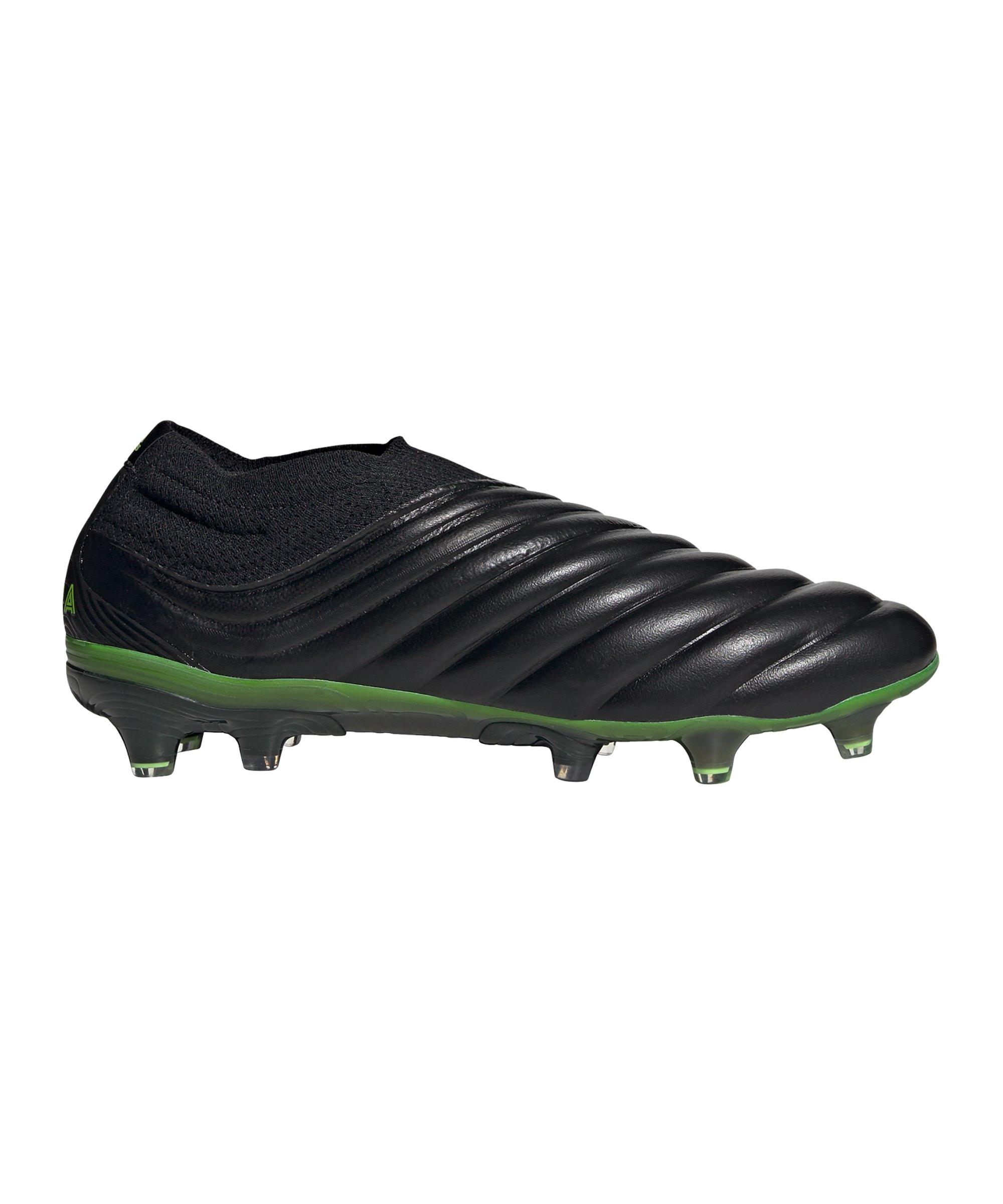 adidas COPA Dark Motion 20+ FG Schwarz Grün - schwarz