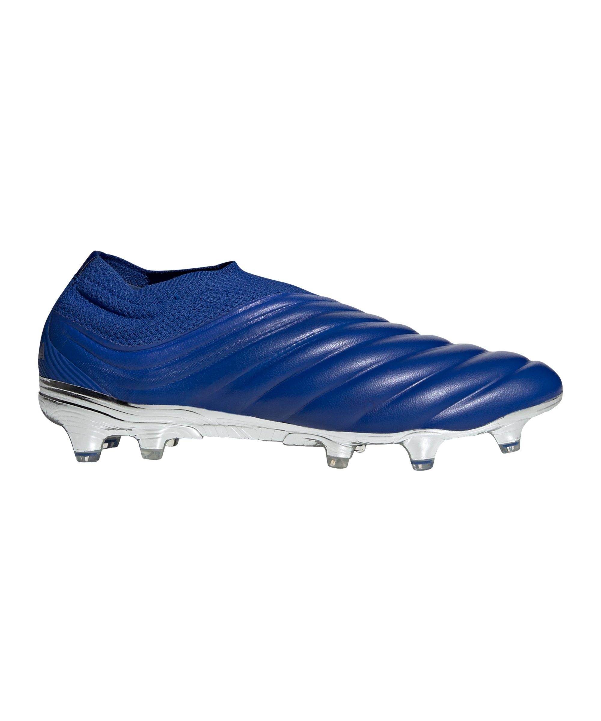 adidas COPA Inflight 20+ FG Blau Silber - blau