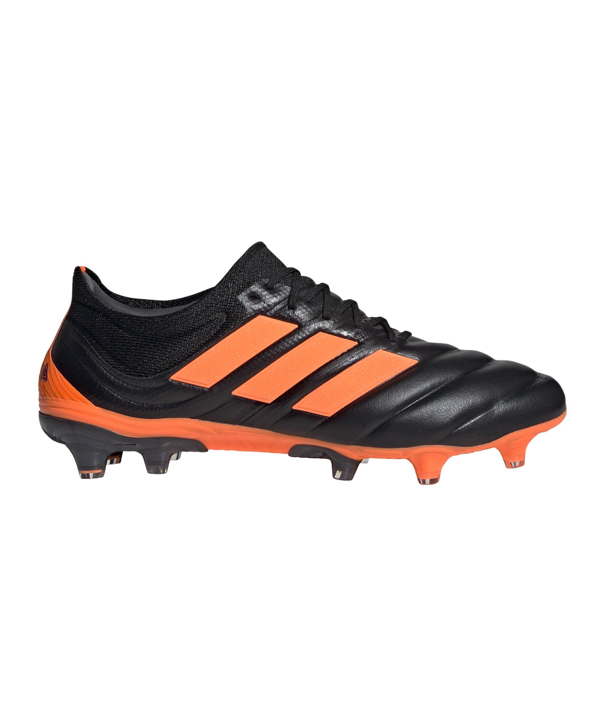 adidas COPA Precision to Blur 20.1 FG Schwarz Orange - schwarz