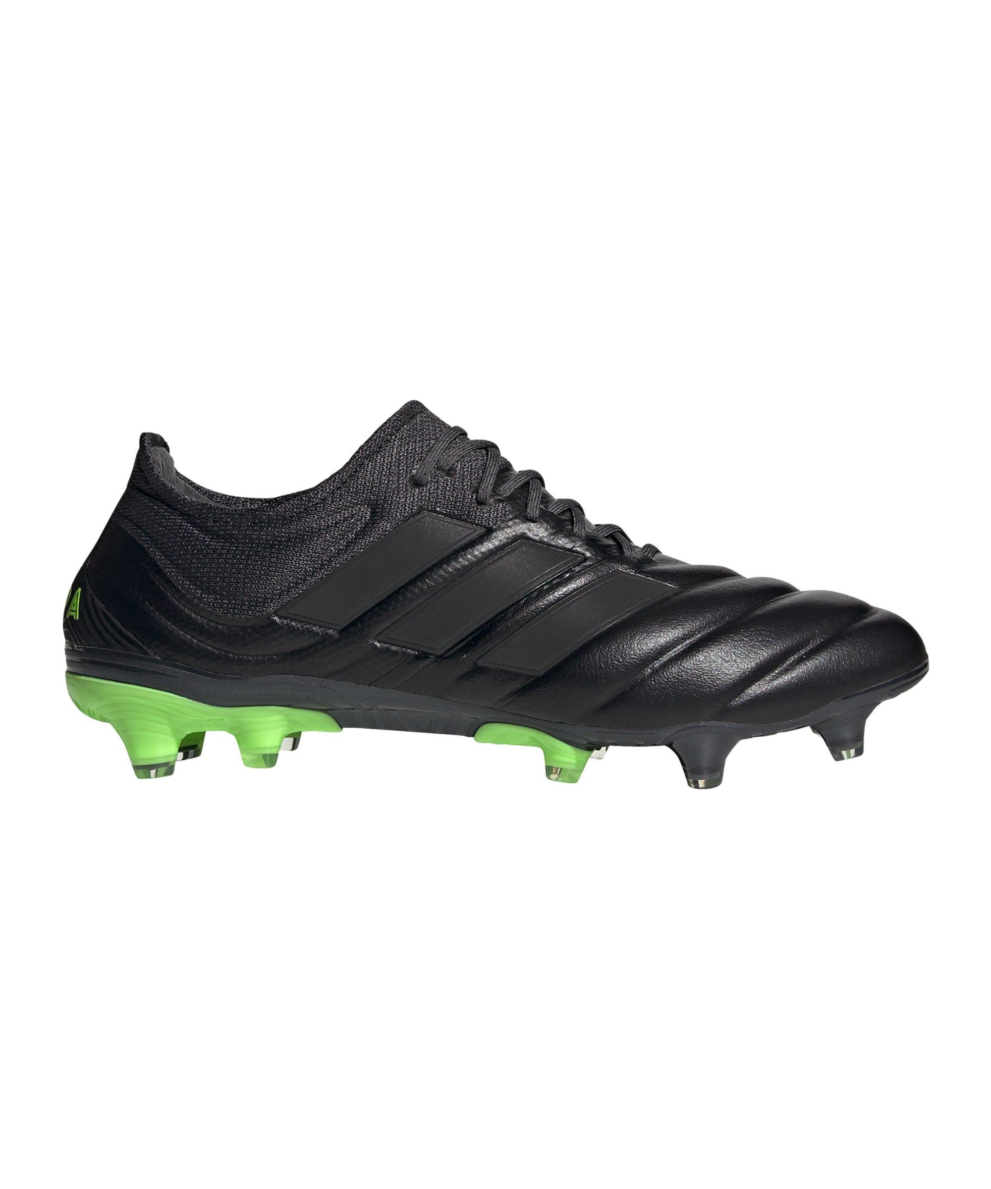 adidas COPA Dark Motion 20.1 FG Schwarz Grün - schwarz