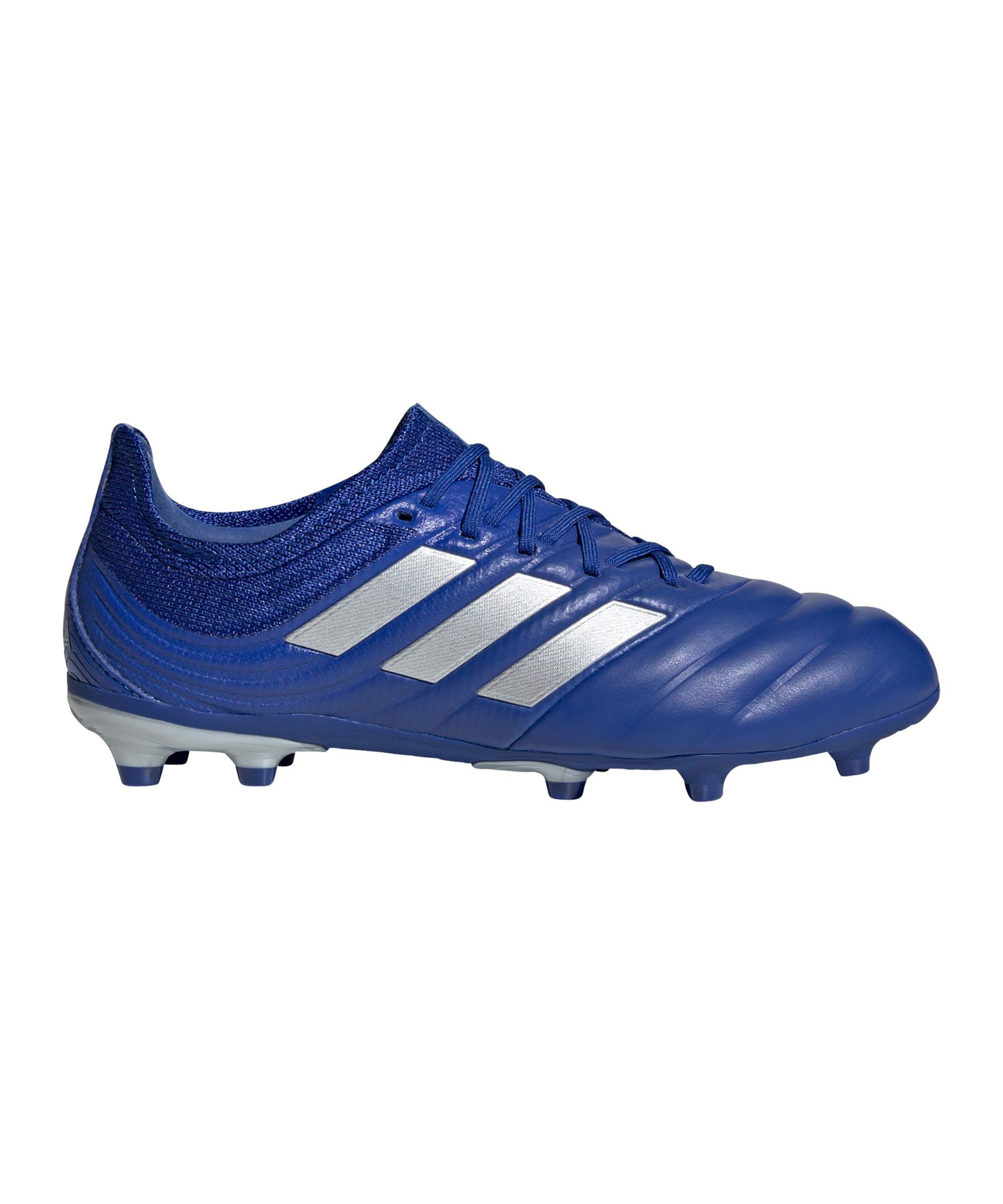 adidas COPA Inflight 20.1 FG J Kids Blau Silber - blau