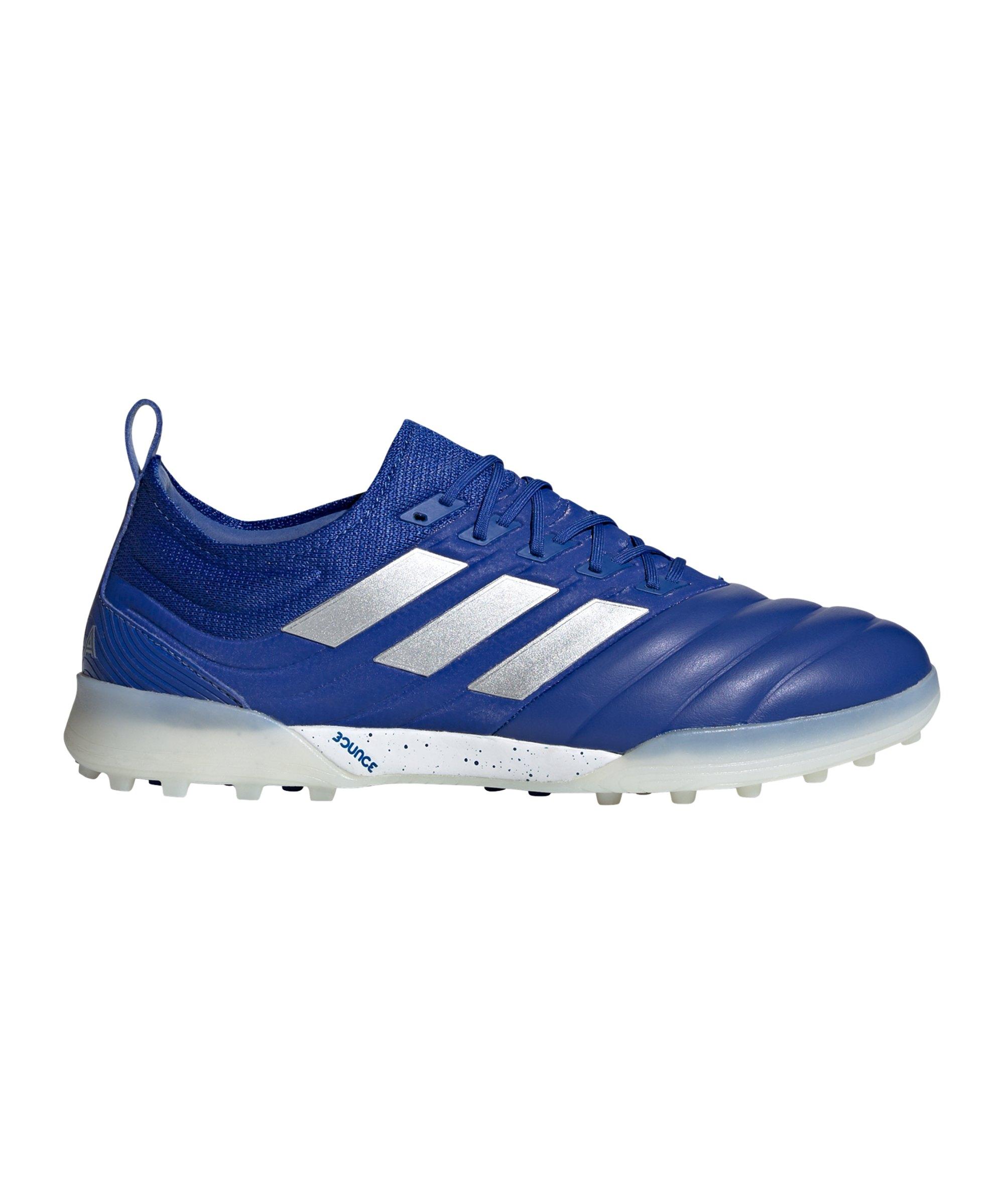 adidas COPA Inflight 20.1 TF Blau Silber - blau