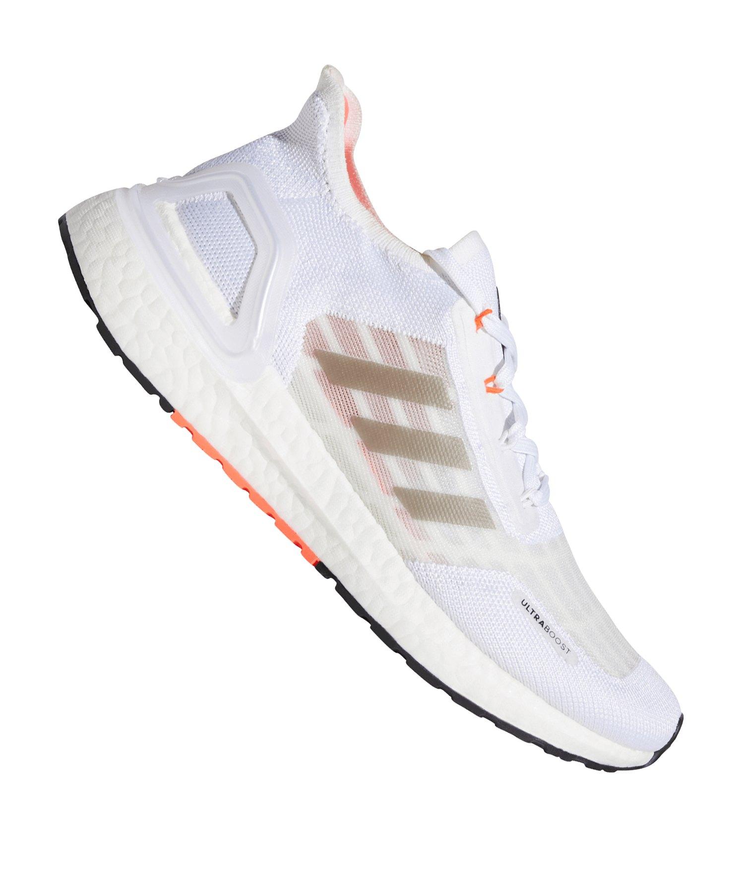 adidas Ultra Boost S.RDY Running Damen Weiss Rot - weiss
