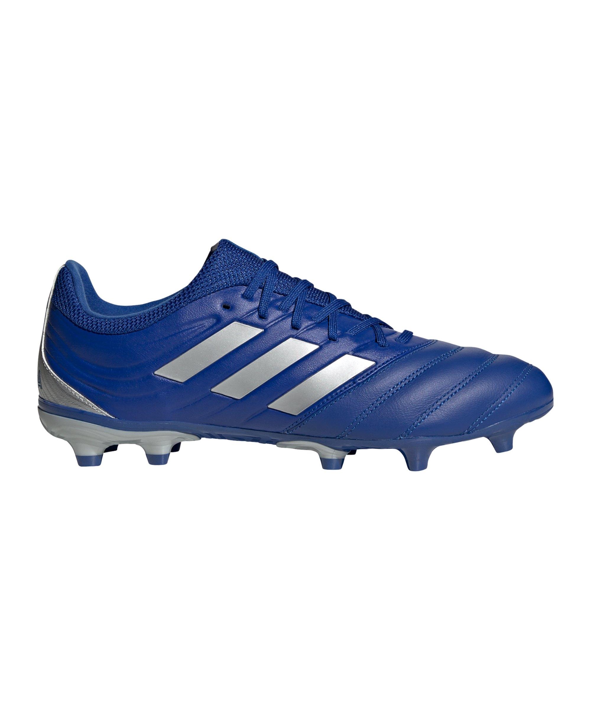 adidas COPA Inflight 20.3 FG Blau Silber - blau