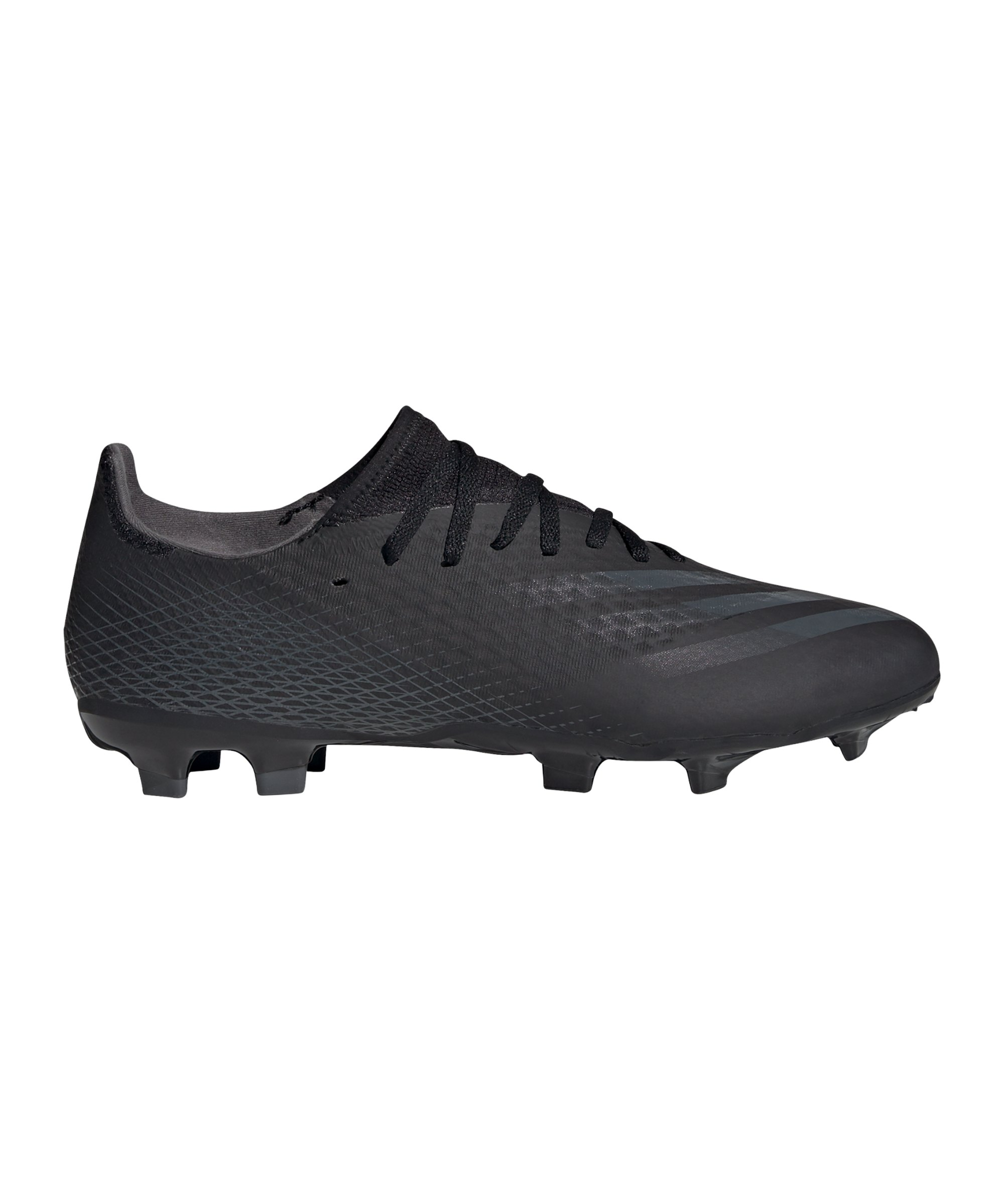 adidas X GHOSTED.3 FG Dark Motion Schwarz Grau - schwarz