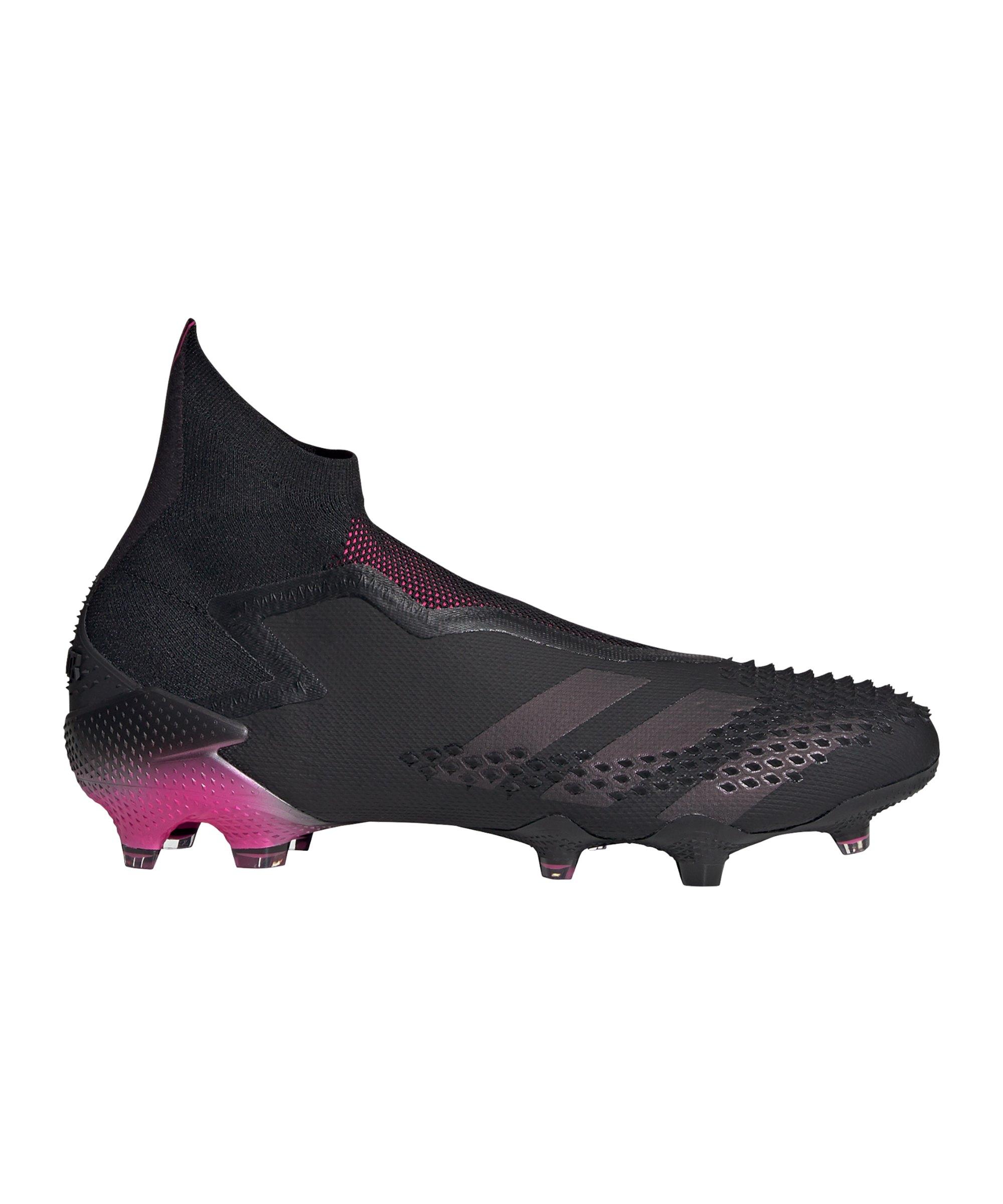 adidas Predator Dark Motion 20+ FG Schwarz Pink - schwarz