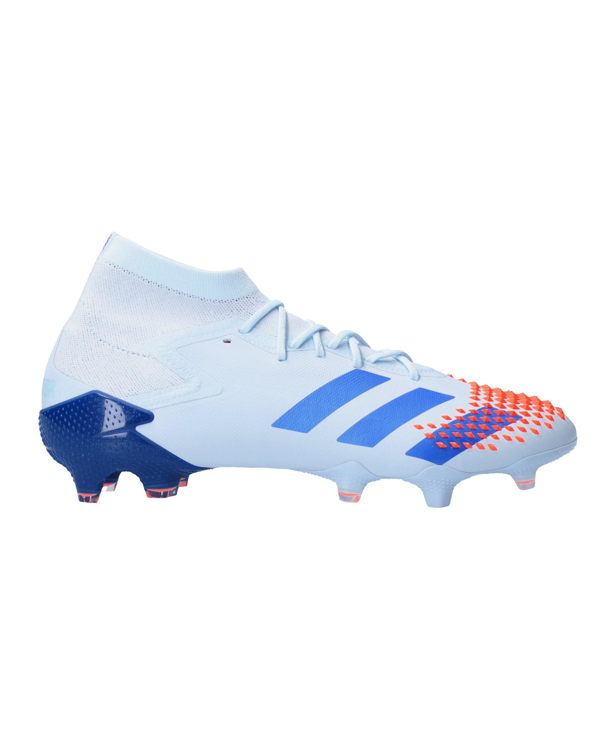 adidas Predator Glory Hunter 20.1 FG Blau Orange - blau