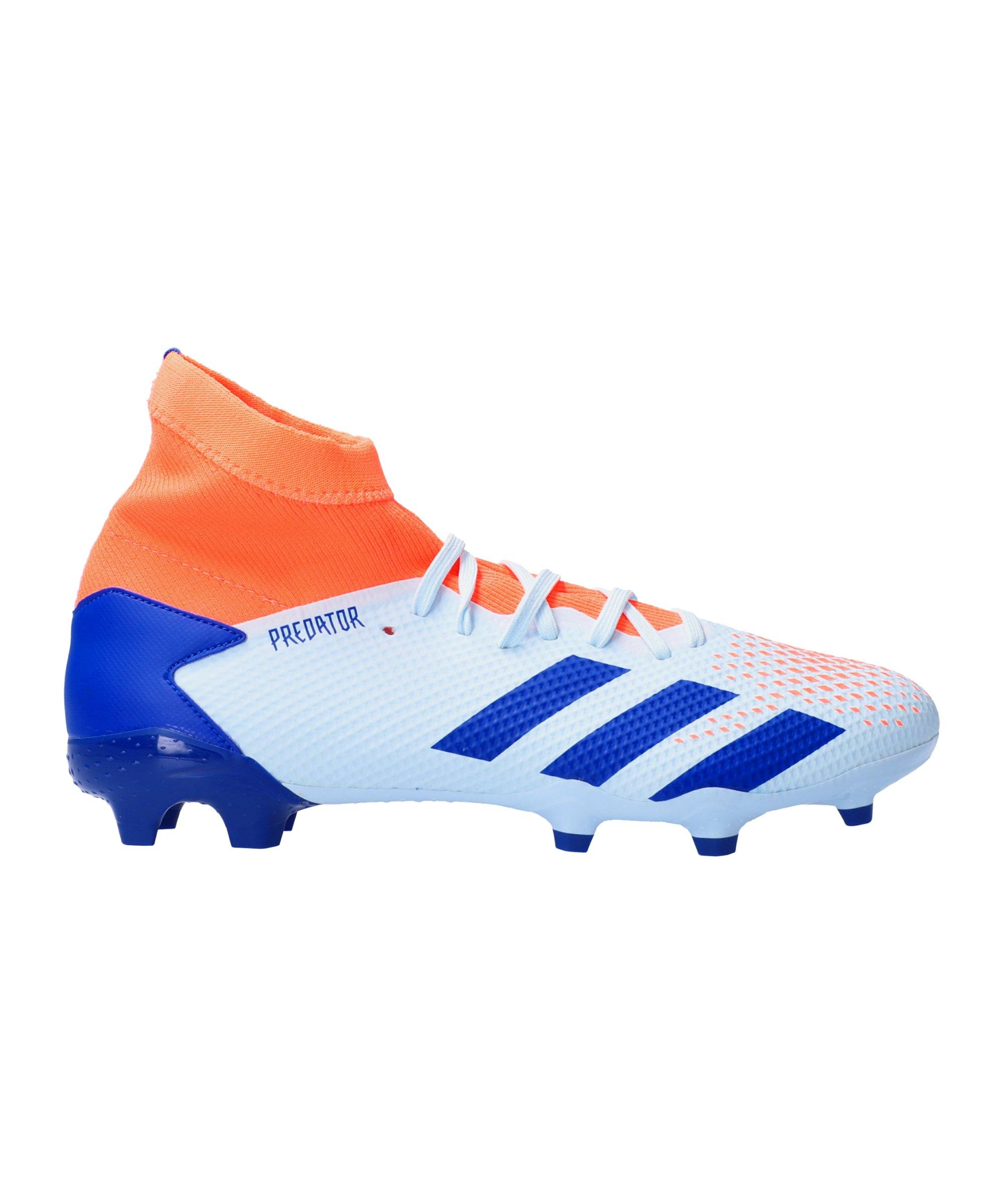 adidas Predator Glory Hunter 20.3 FG Blau Orange - blau