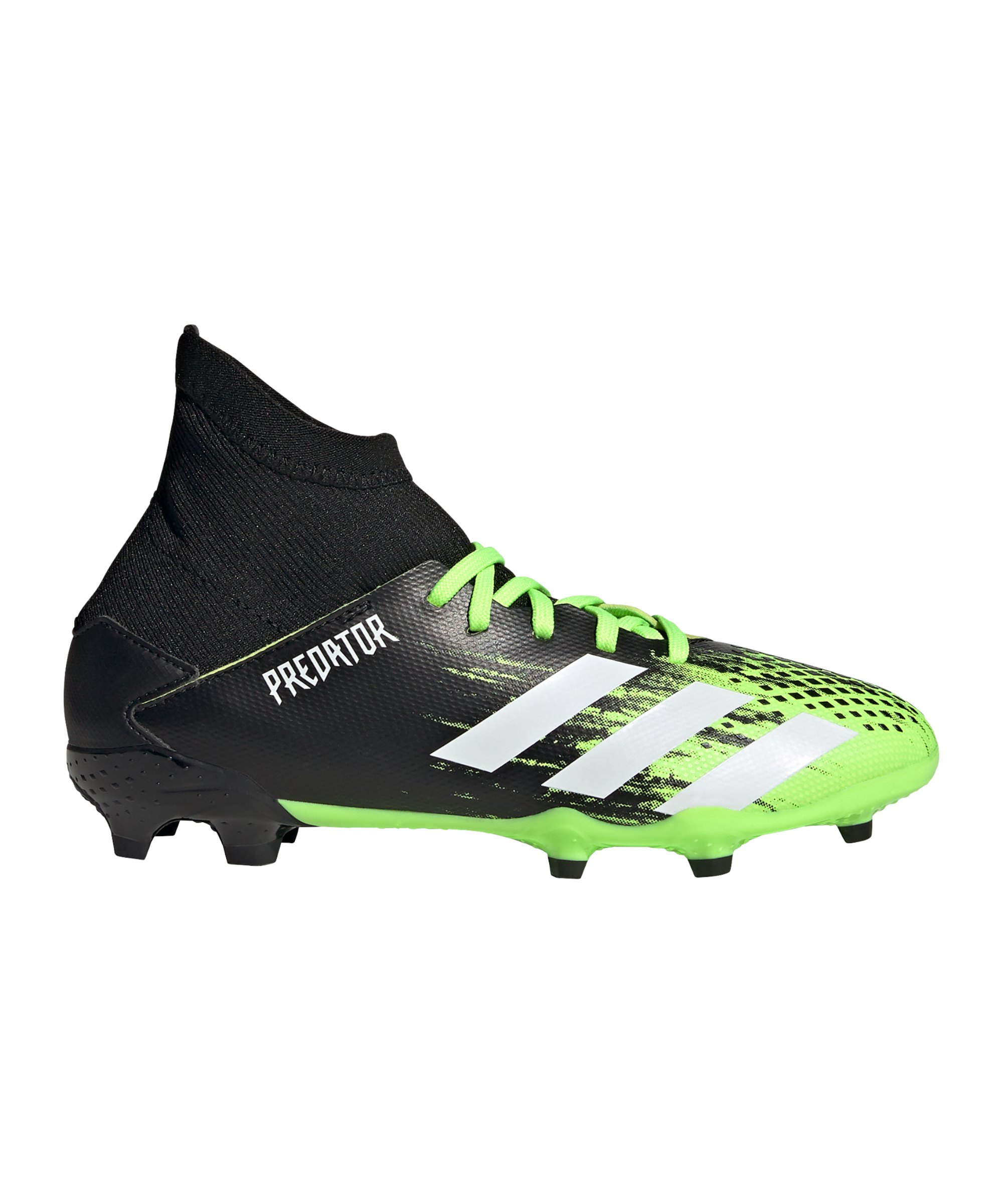 adidas Predator Precision to Blur 20.3 FG J Kids Grün Weiss - gruen