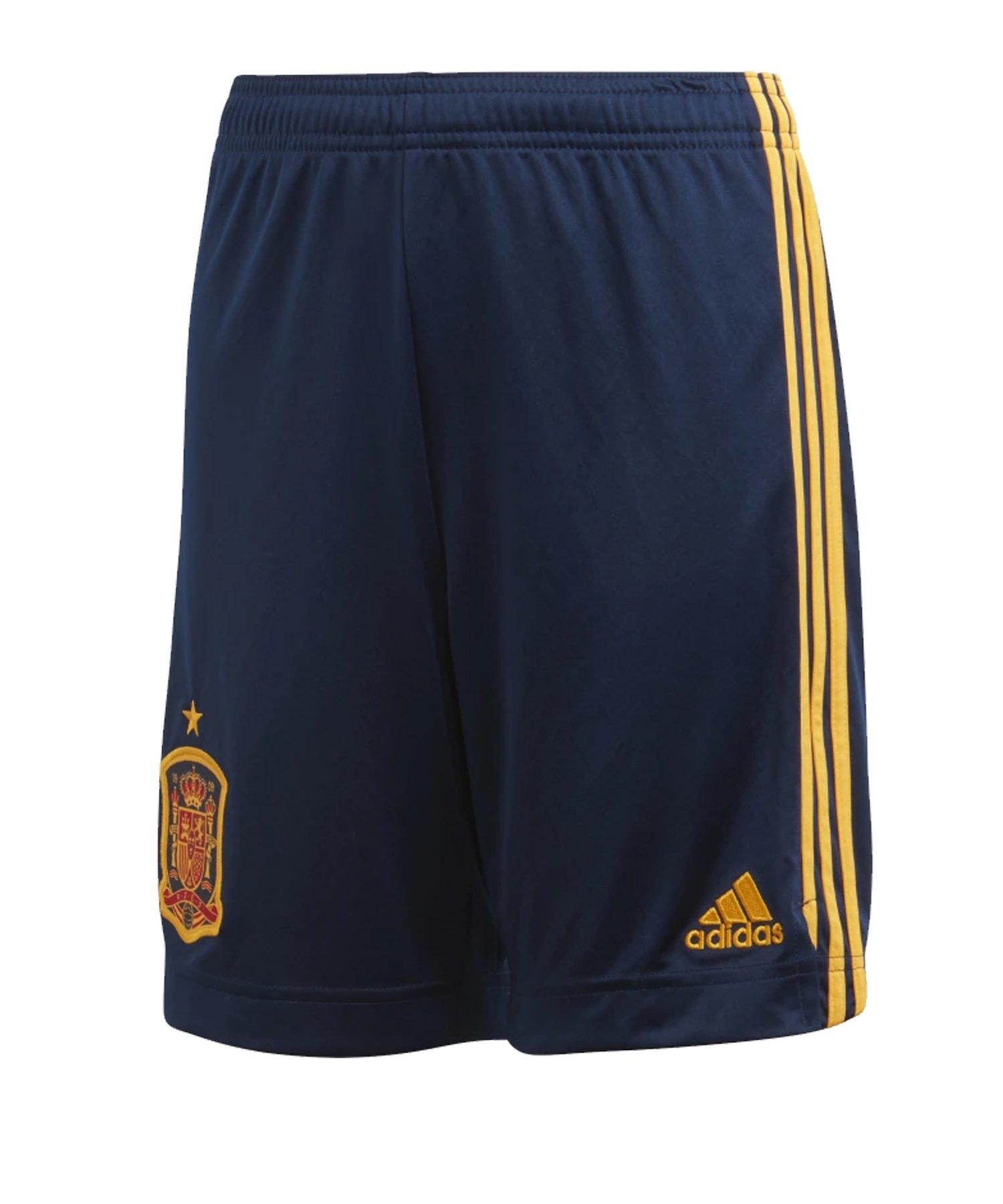 adidas Spanien Short Home EM 2020 Blau - blau