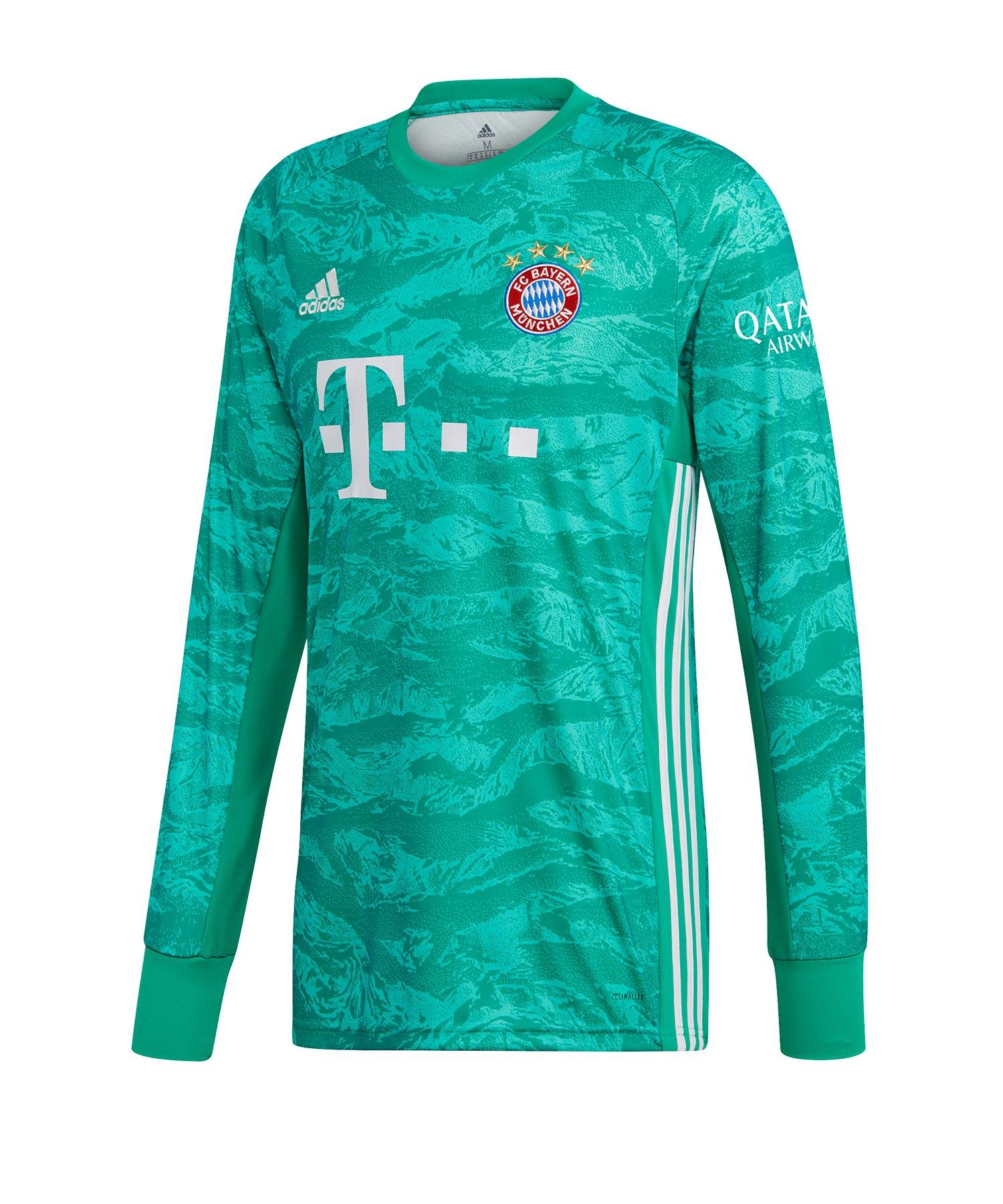 adidas FC Bayern München Torwarttrikot 2019/2020 - Gruen