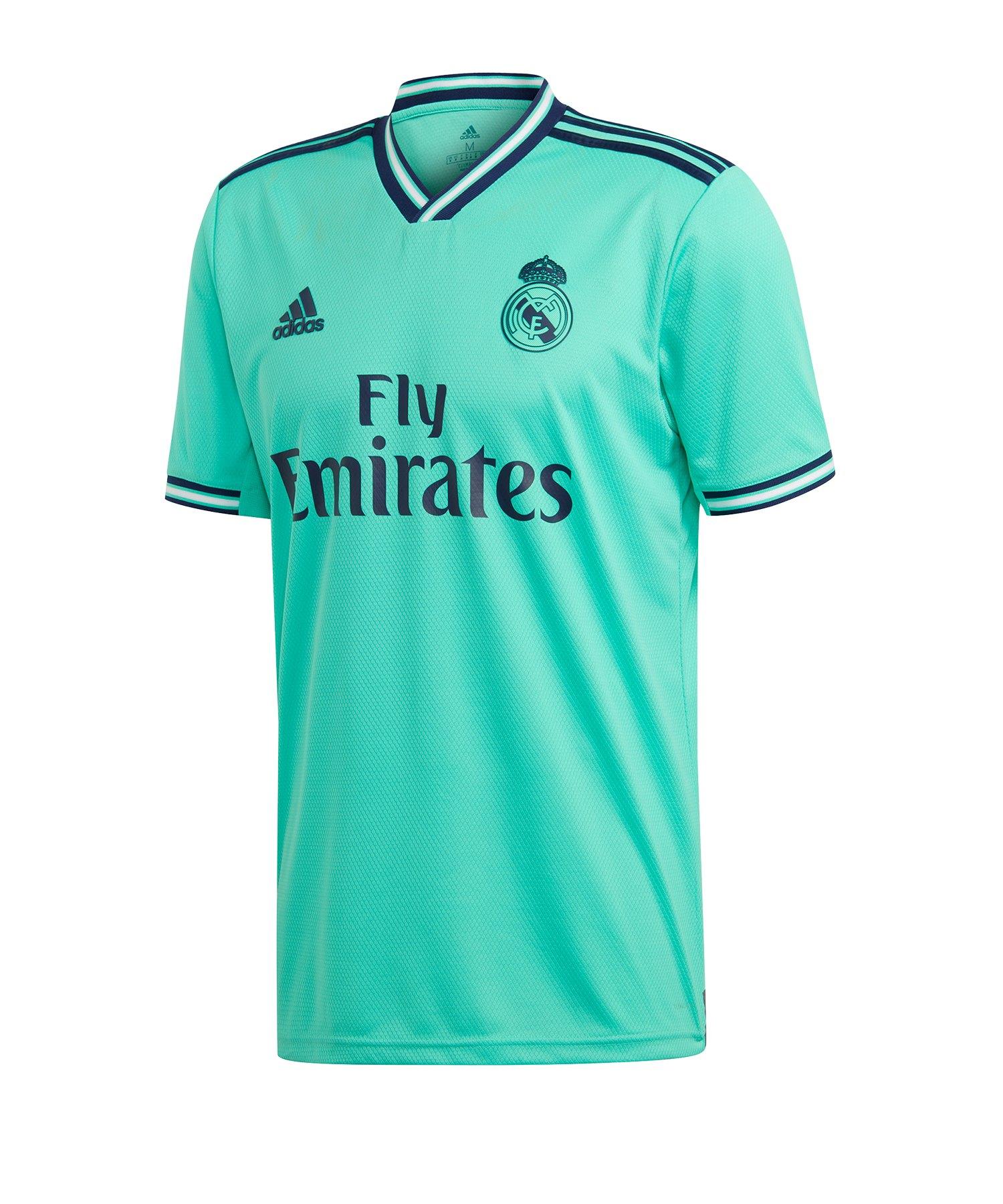 adidas Real Madrid Trikot UCL 2019/2020 Grün - gruen