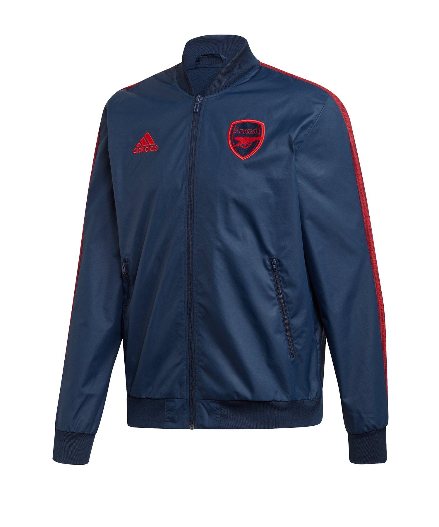 adidas FC Arsenal London Anthem Jacke Blau - blau