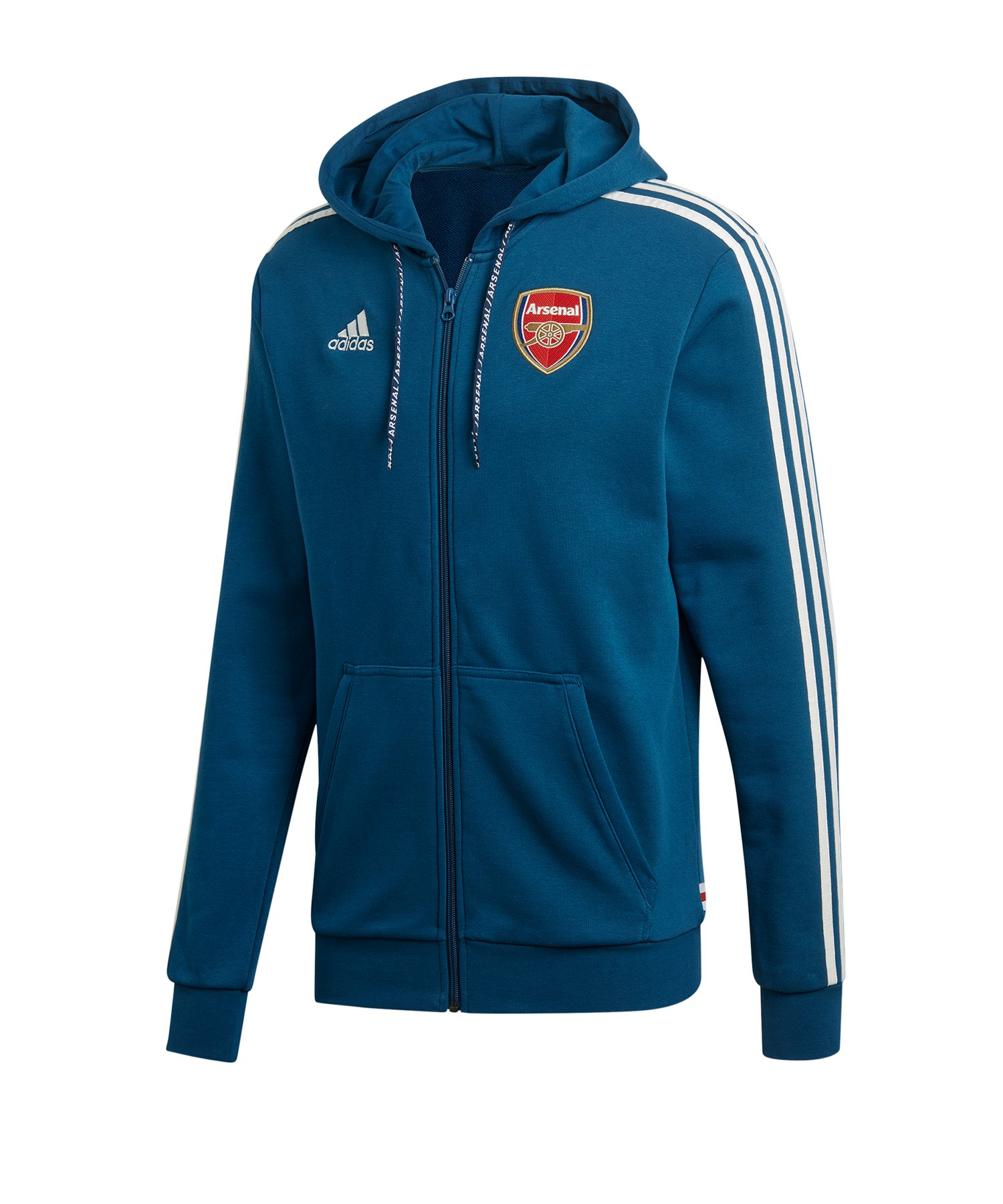 adidas FC Arsenal London Kapuzenjacke Blau - blau