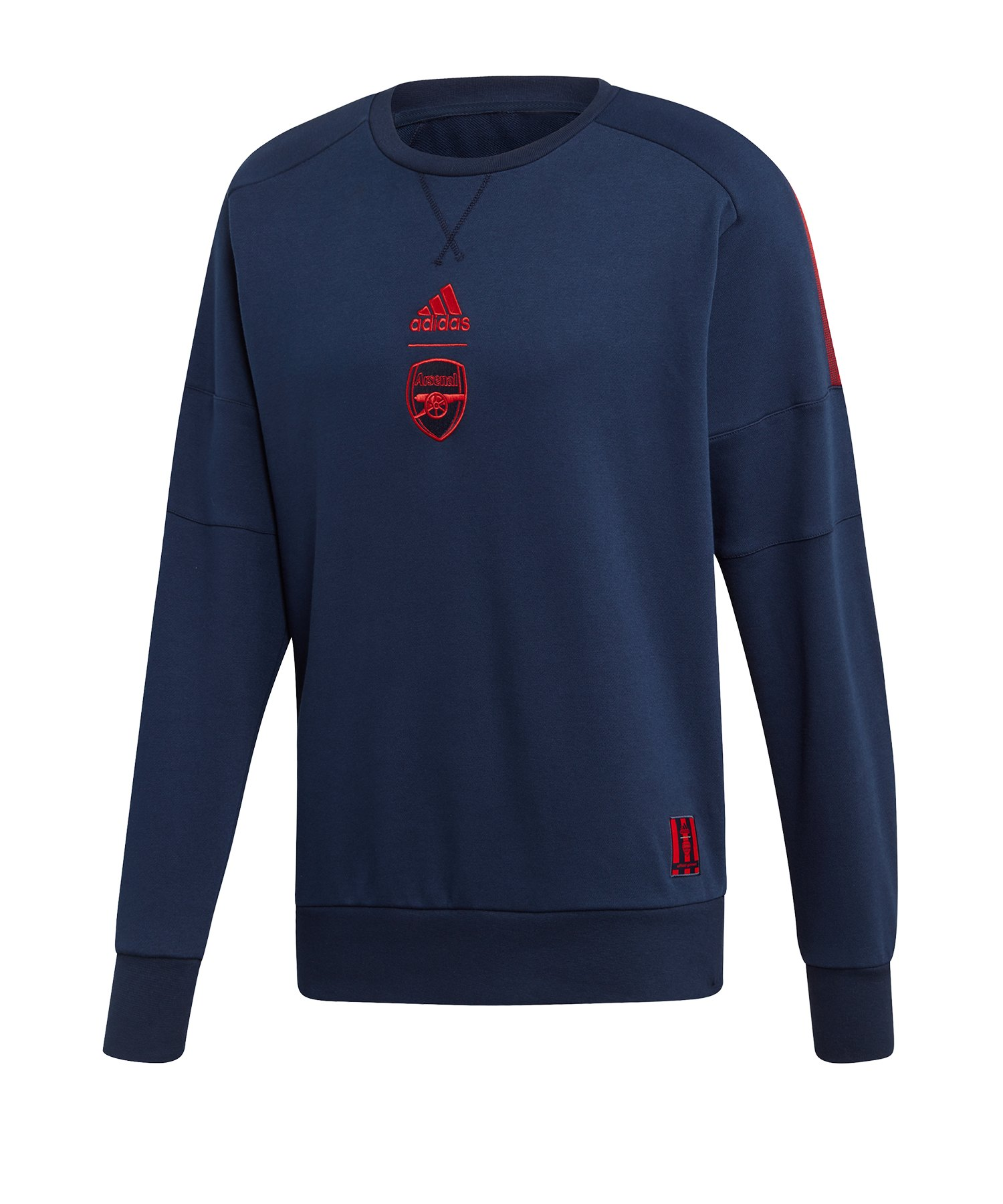 adidas FC Arsenal London Sweatshirt Blau - blau