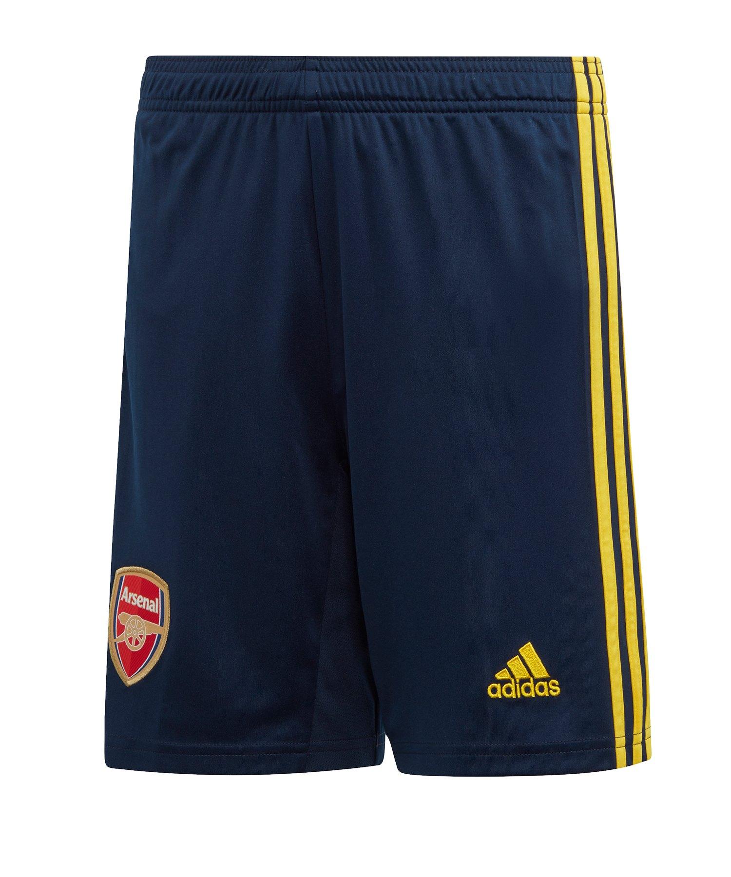adidas FC Arsenal London Short Away 2019/2020 Kids Blau - blau
