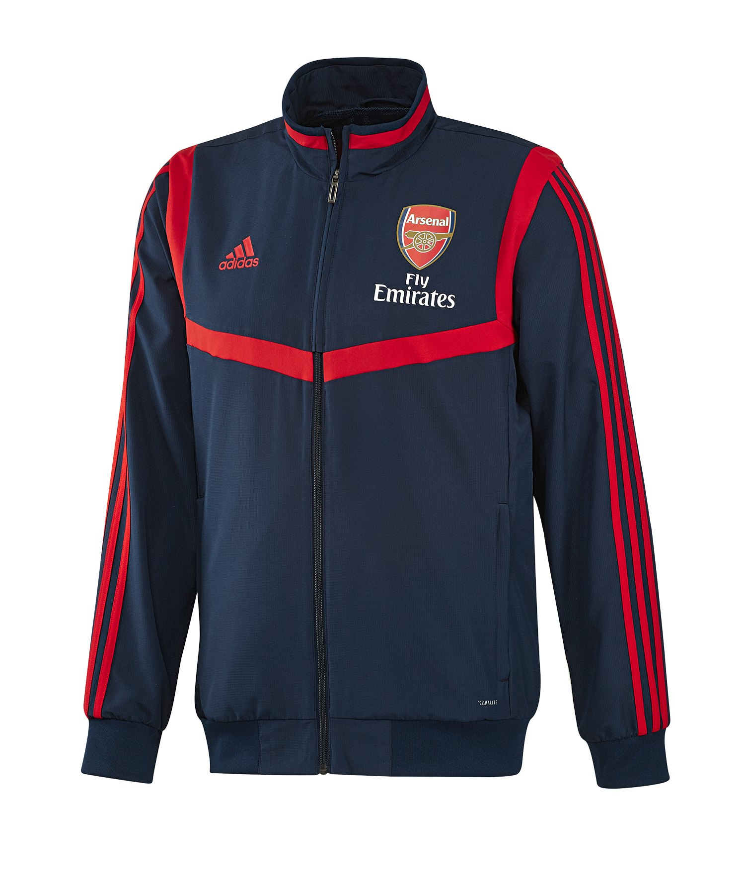 adidas FC Arsenal London Präsentationsjacke Blau - blau