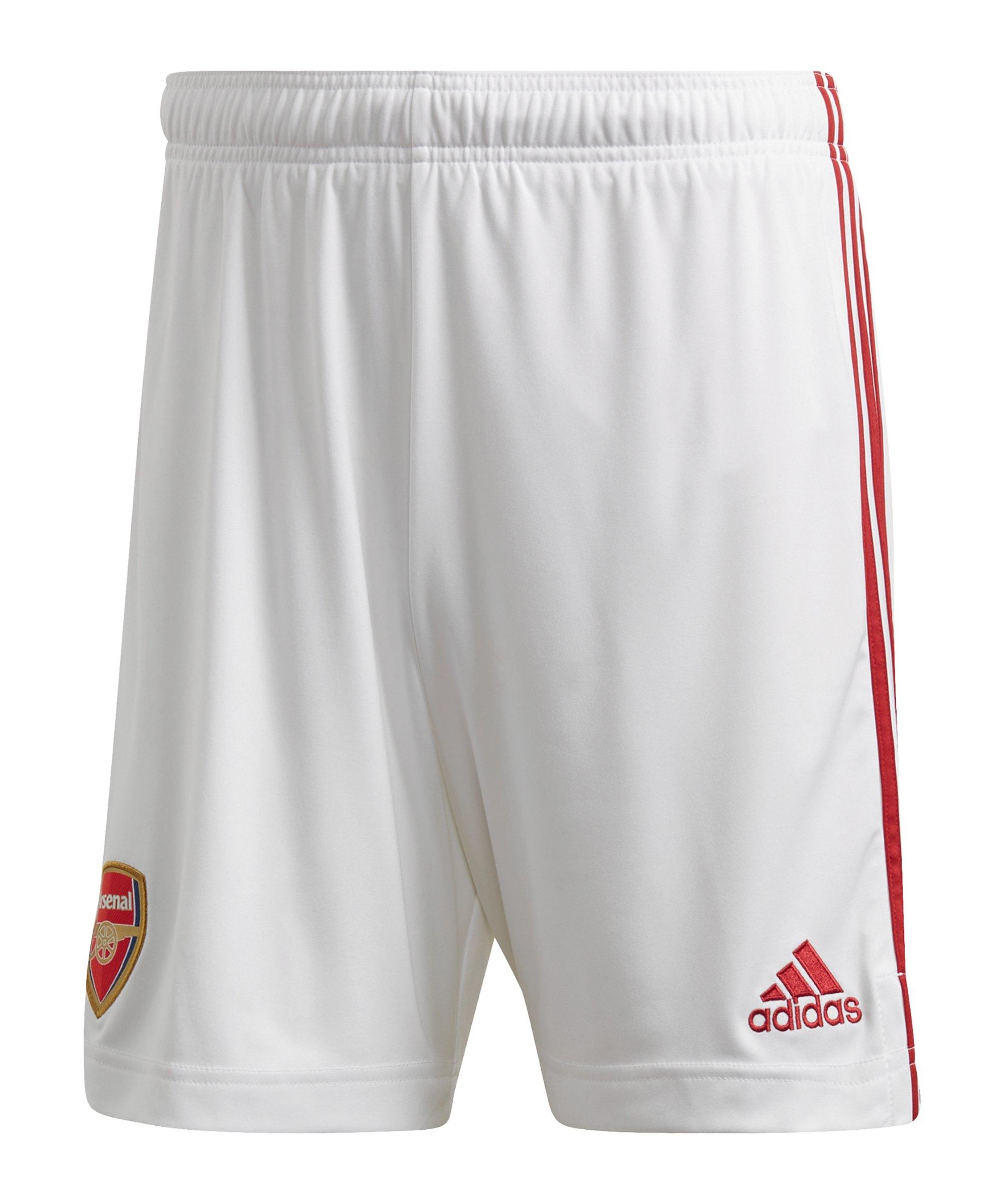 adidas FC Arsenal London Short Home 20/21 Weiss - weiss