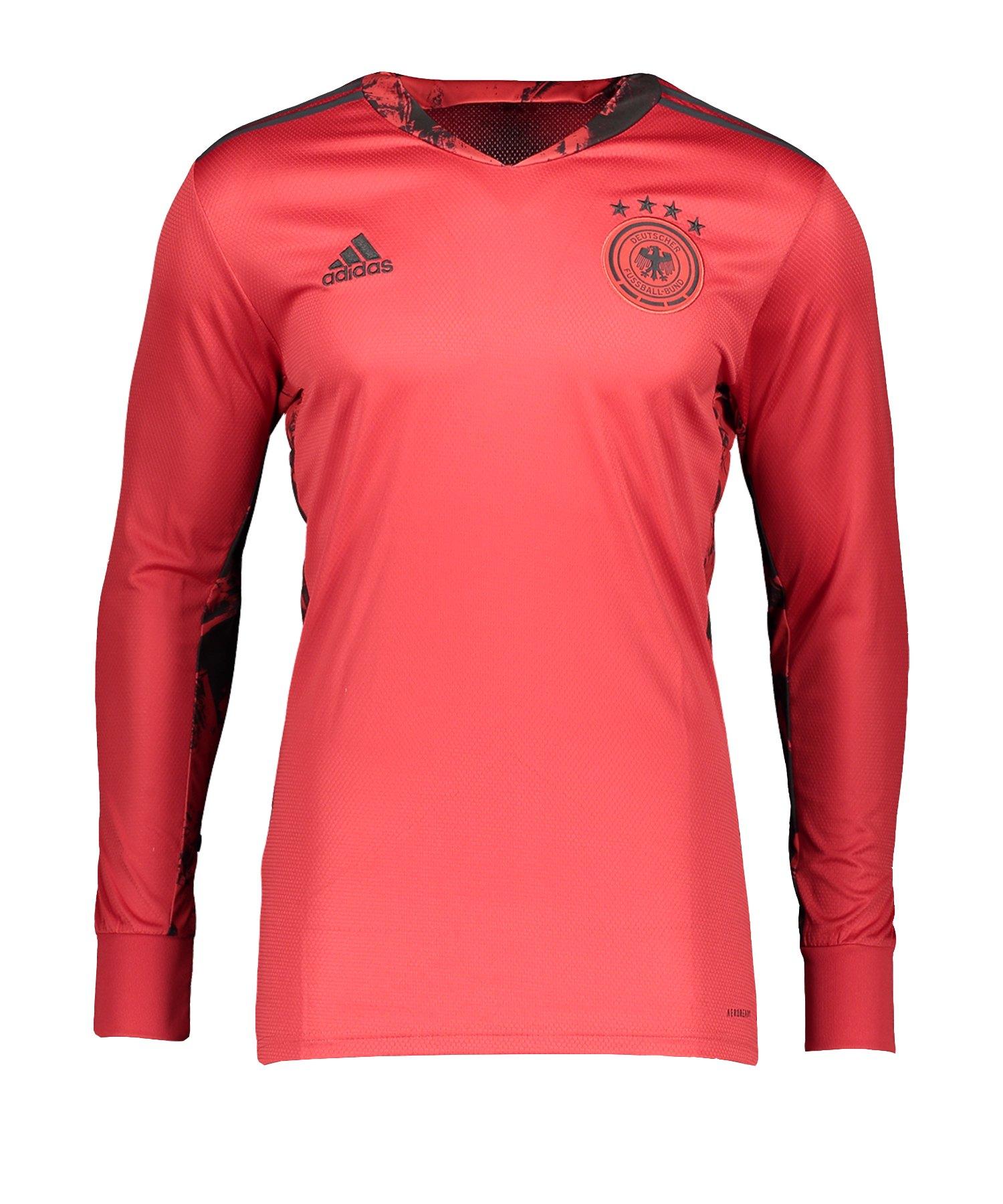 adidas DFB Deutschland Torwarttrikot EM 2020 Rot - rot