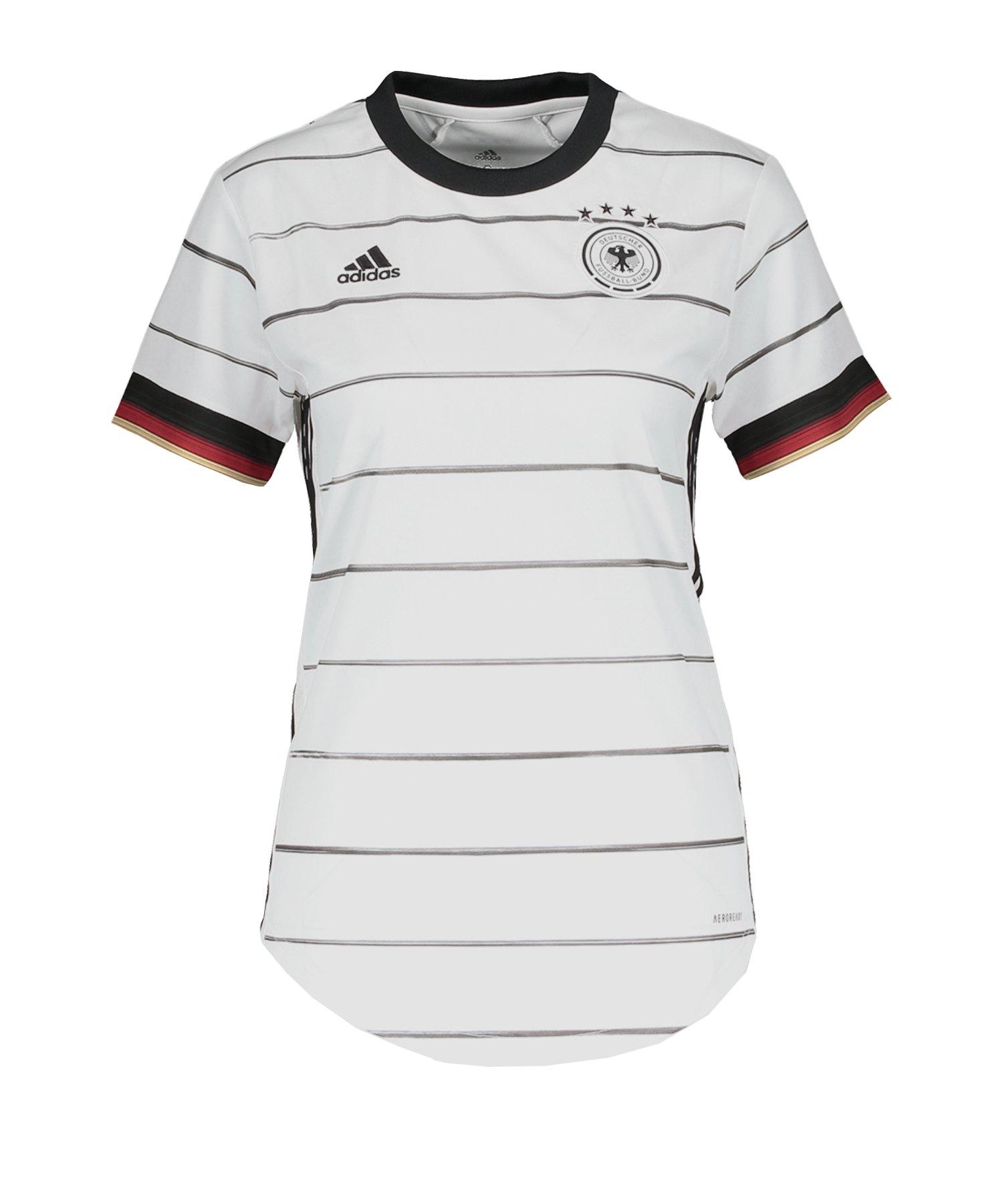 adidas DFB Deutschland Trikot Home EM 2020 Damen - weiss
