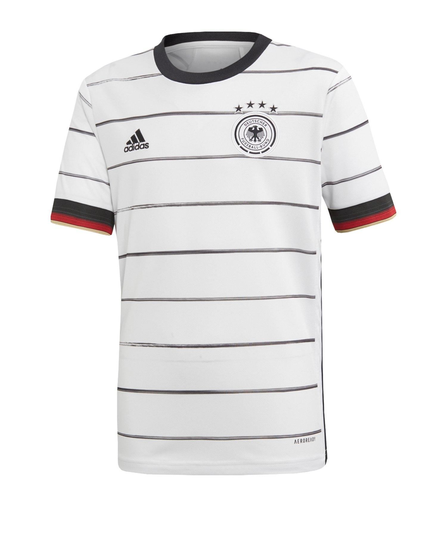 adidas DFB Deutschland Trikot Home EM 2020 Kids - weiss