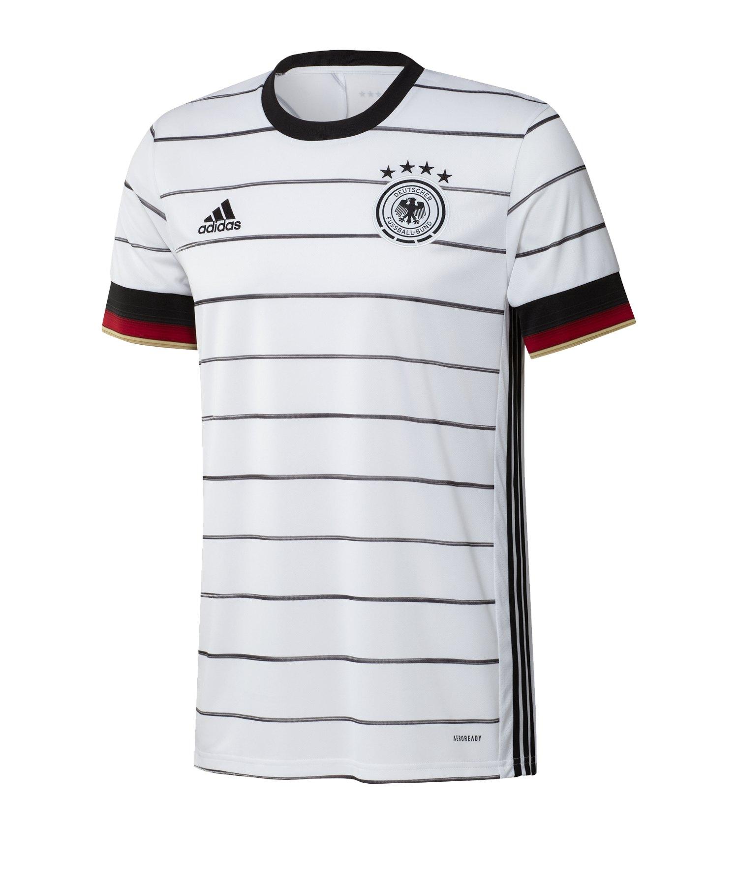 adidas DFB Deutschland Trikot Home EM 2020 Weiss - weiss