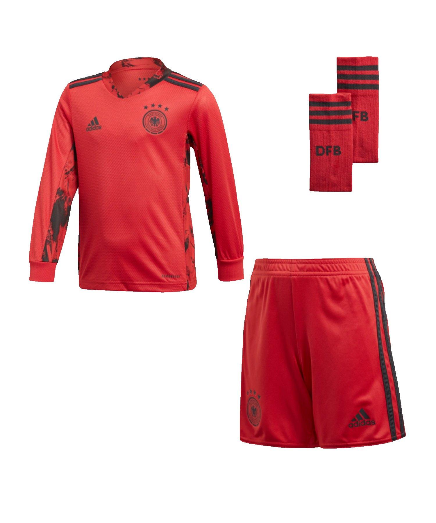 adidas DFB Deutschland TW-Minikit Home EM 2020 - rot