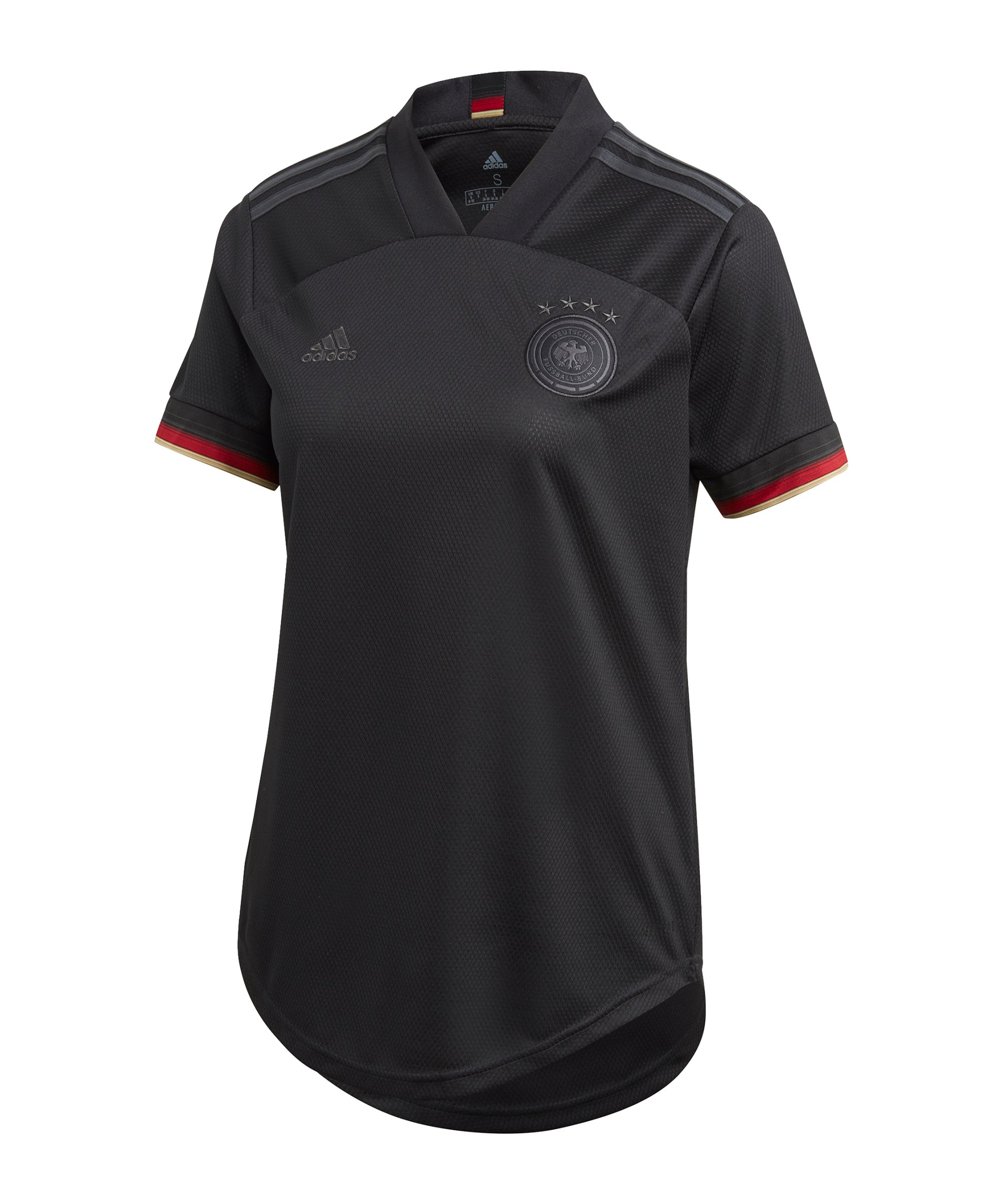 adidas DFB Deutschland Trikot Away EM 2020 Damen Schwarz - schwarz