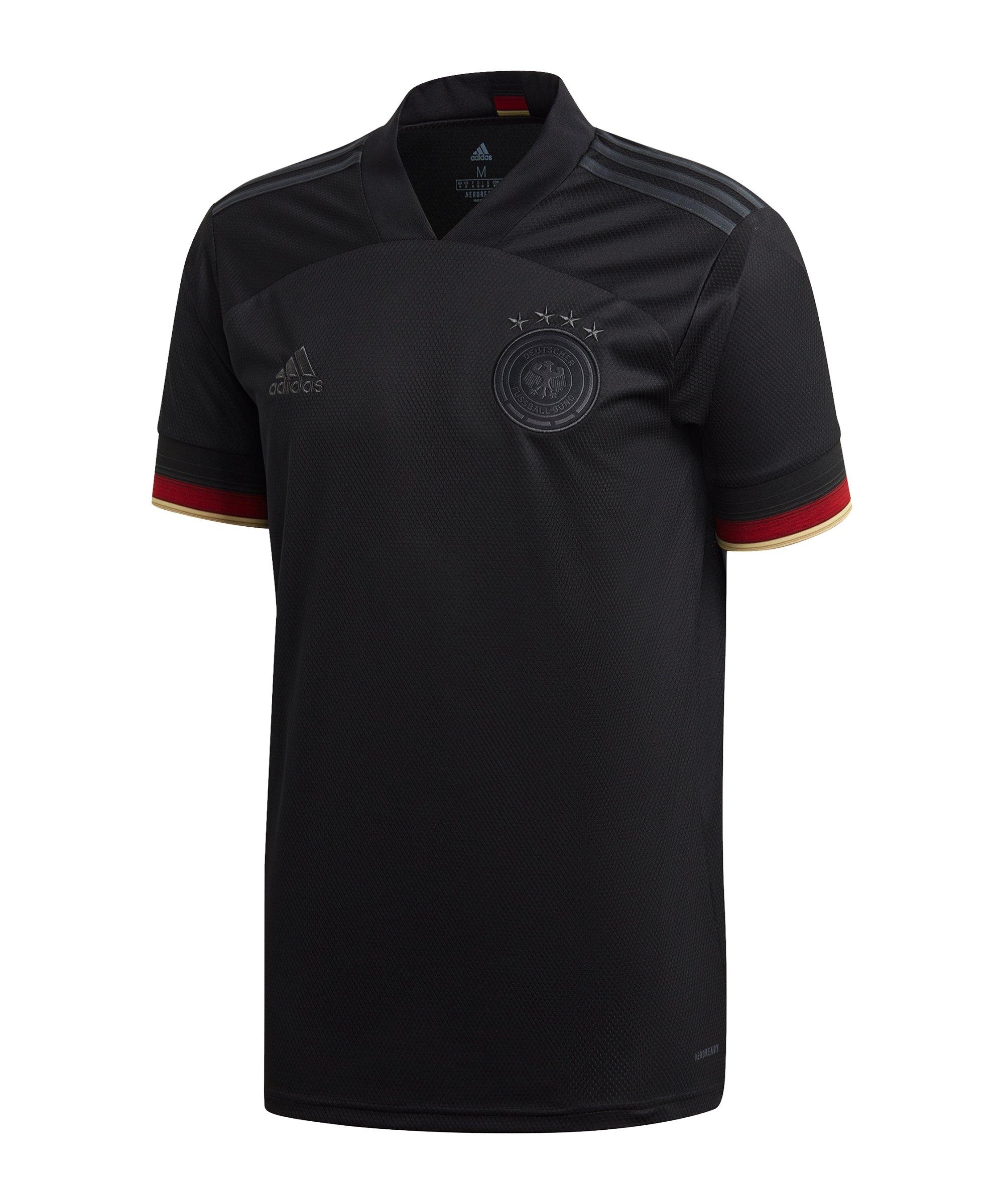 adidas DFB Deutschland Trikot Away EM 2020 Schwarz - schwarz