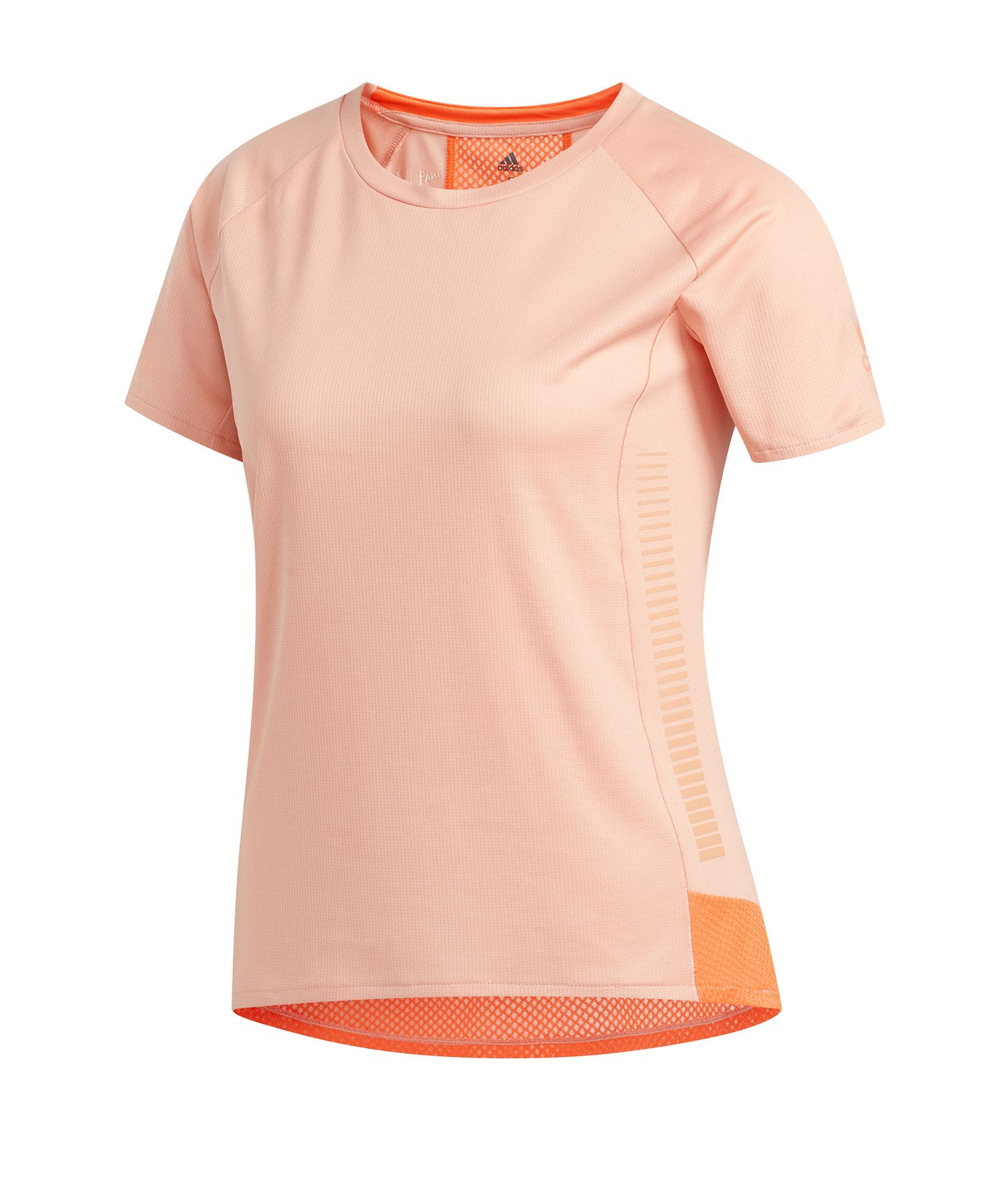 adidas 25/7 Tee T-Shirt Running Rosa - rosa