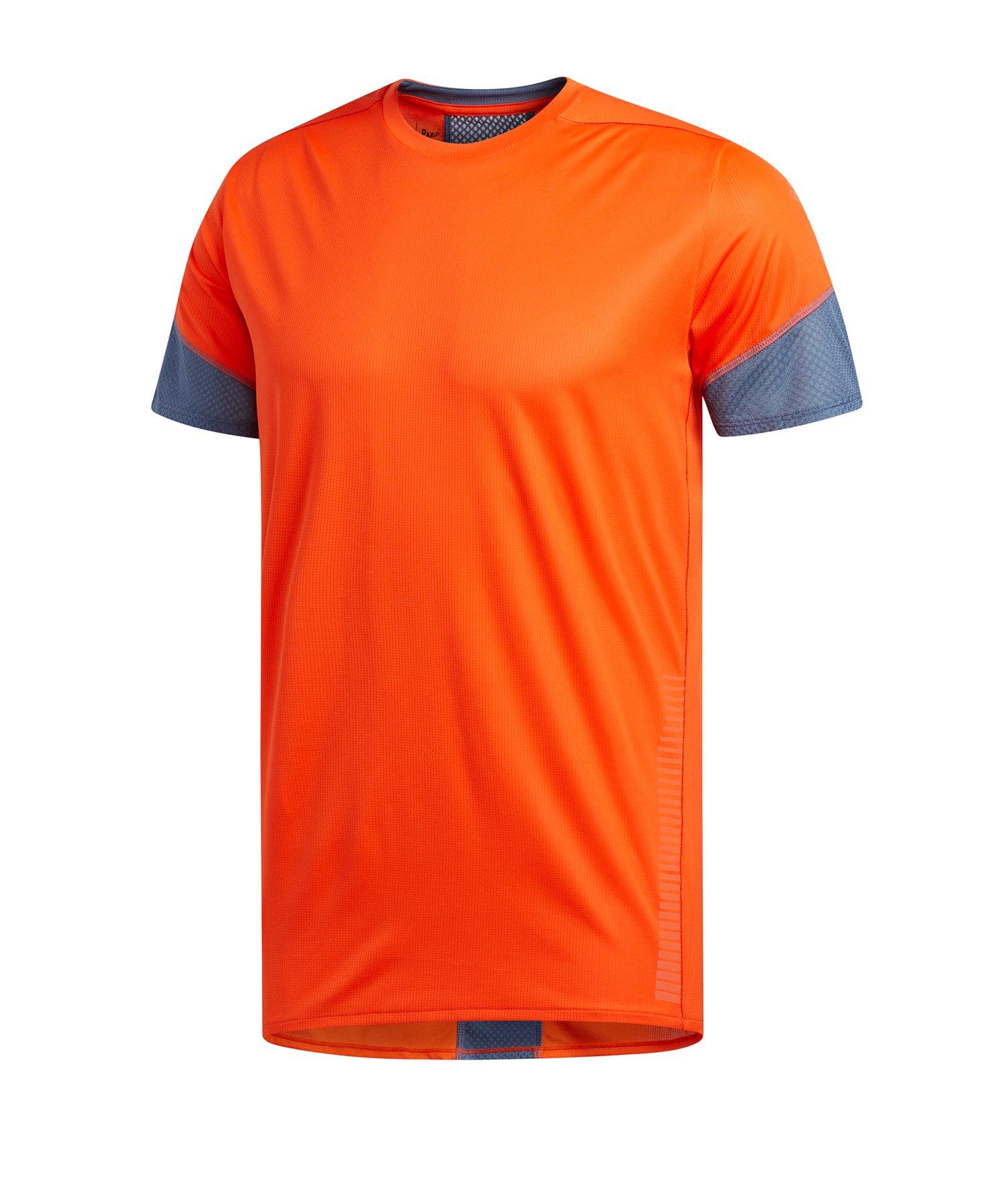 adidas 25/7 Tee T-Shirt Running Orange - orange