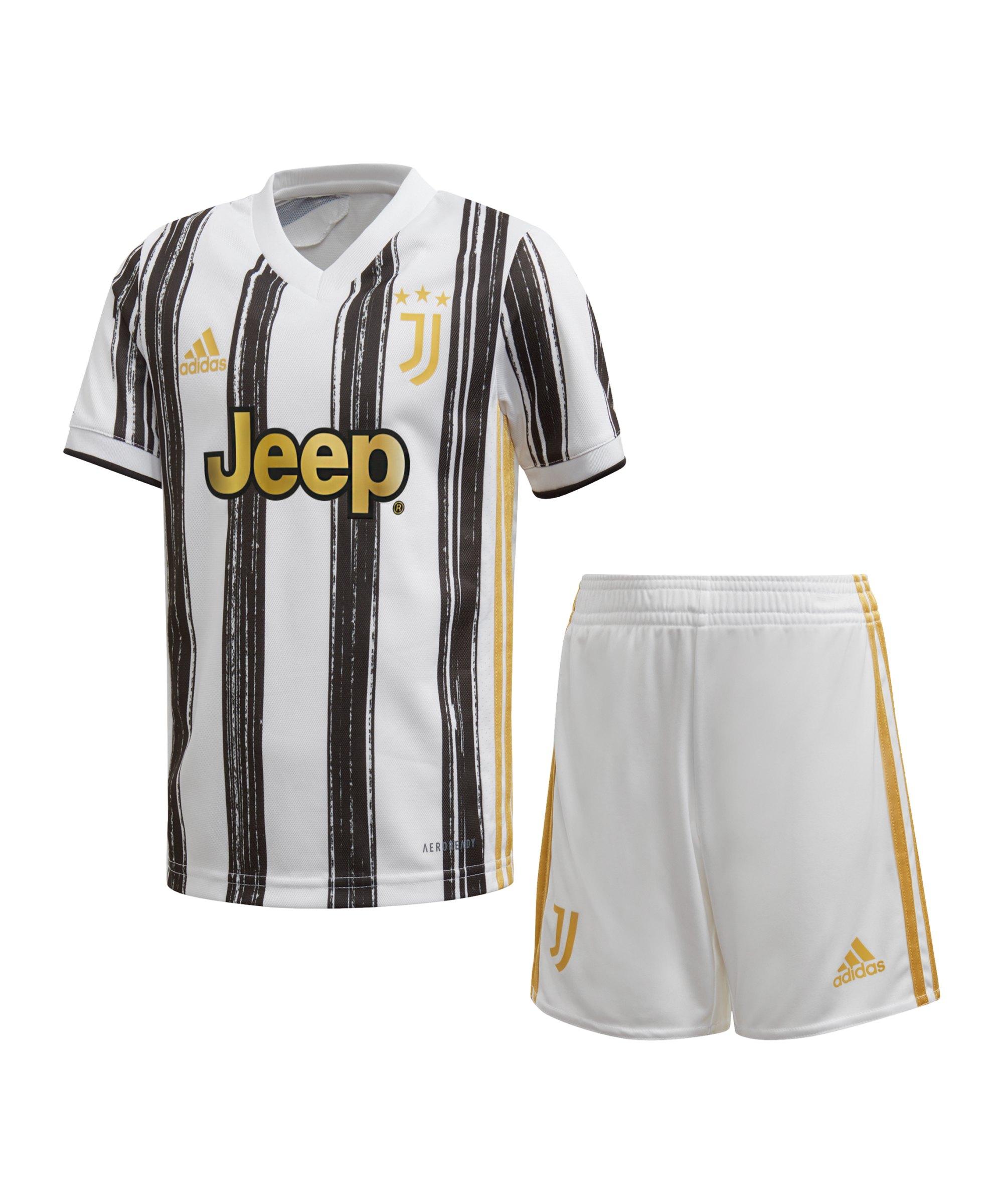 adidas Juventus Turin Minikit Home 2020/2021 Weiss - weiss