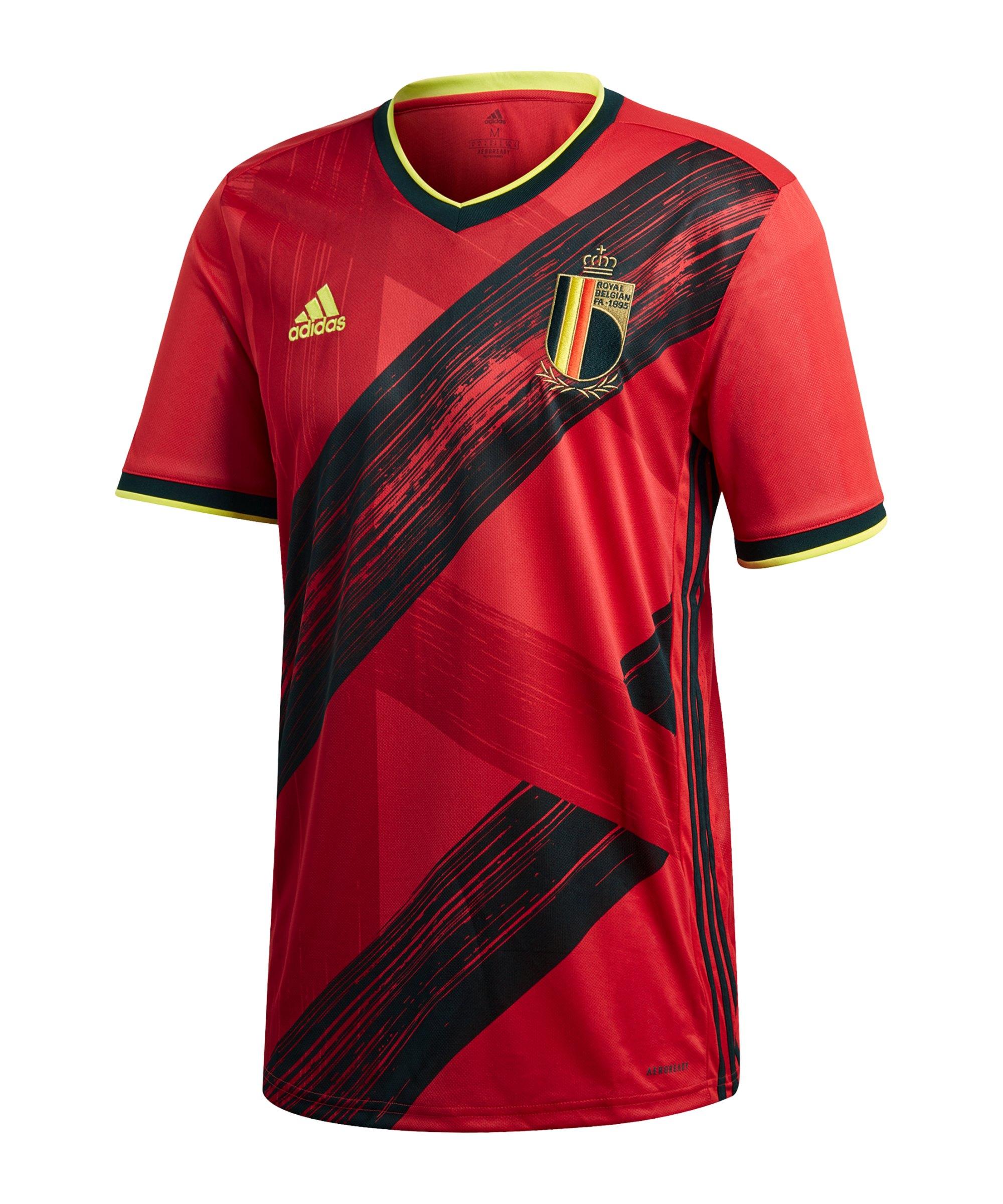 adidas Belgien Trikot Home EM 2020 Rot - rot