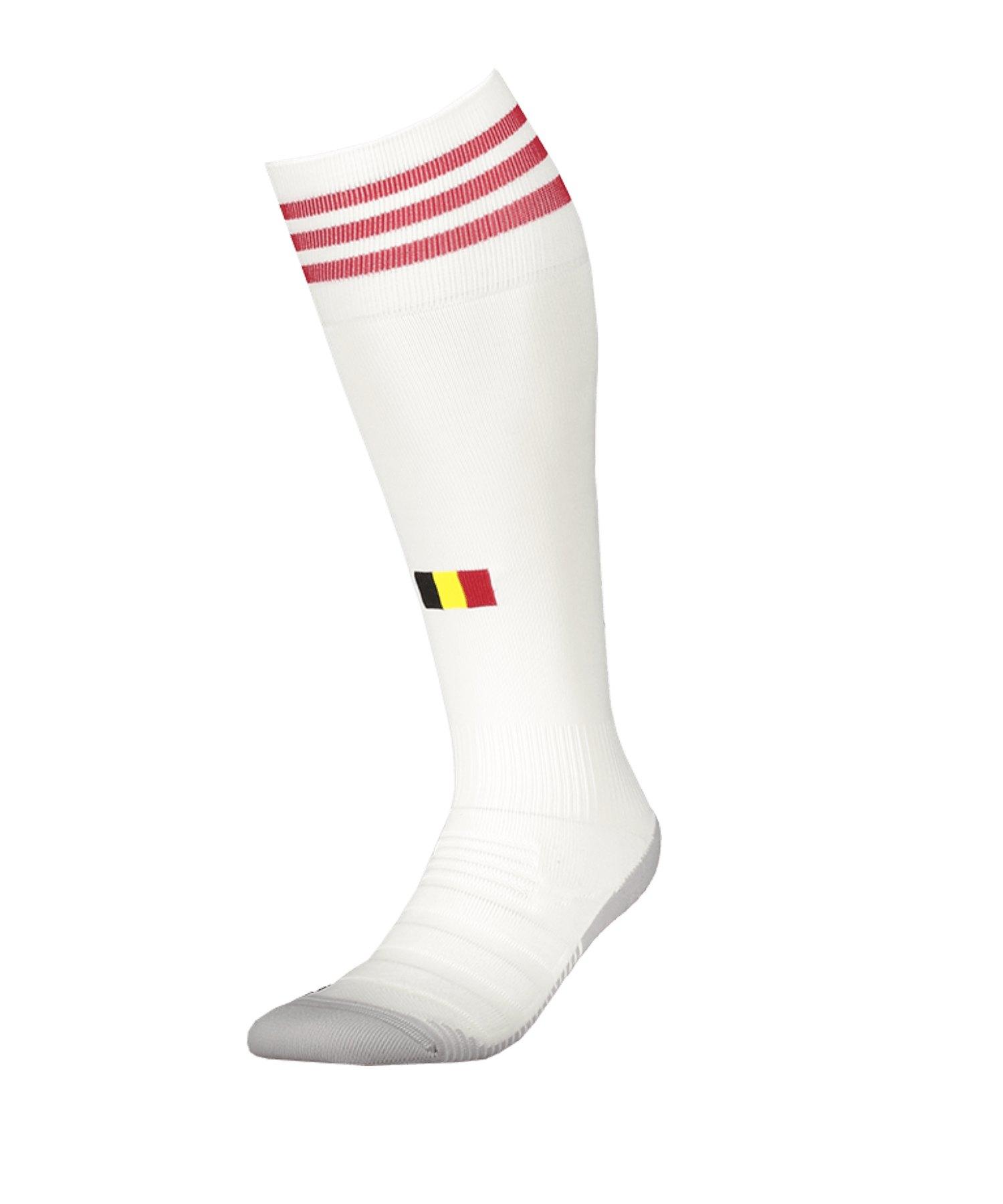 adidas Belgien Stutzen Away EM 2021 Weiss - weiss