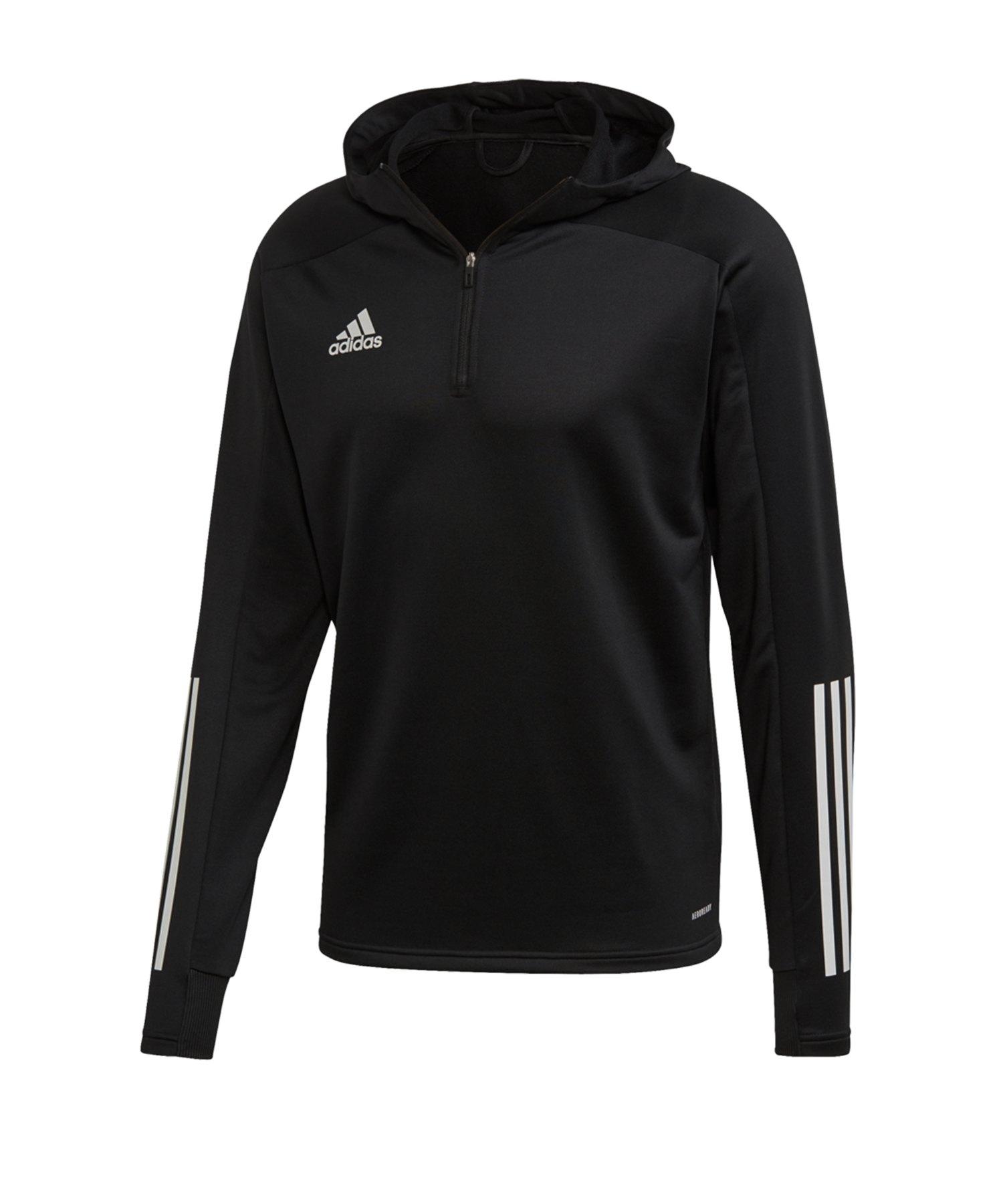 adidas Condivo 20 Kapuzensweatshirt Schwarz - schwarz