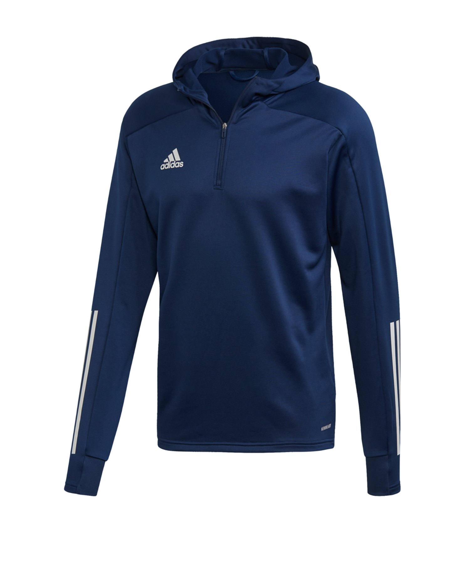 adidas Condivo 20 Kapuzensweatshirt Dunkelblau - blau