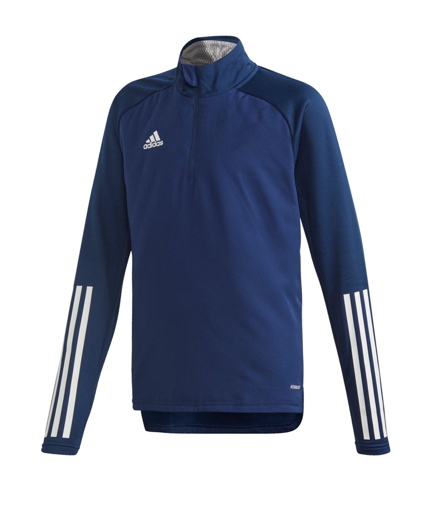 adidas Condivo 20 Warm Sweatshirt Kids Blau - blau