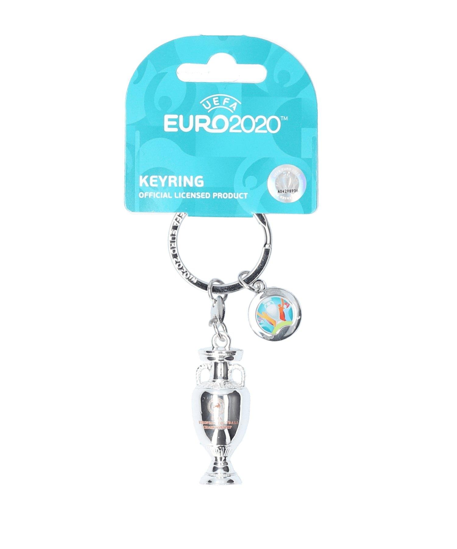 FIFA EM 2020 - Keyring Trophy Schlüsselanhänger - silber