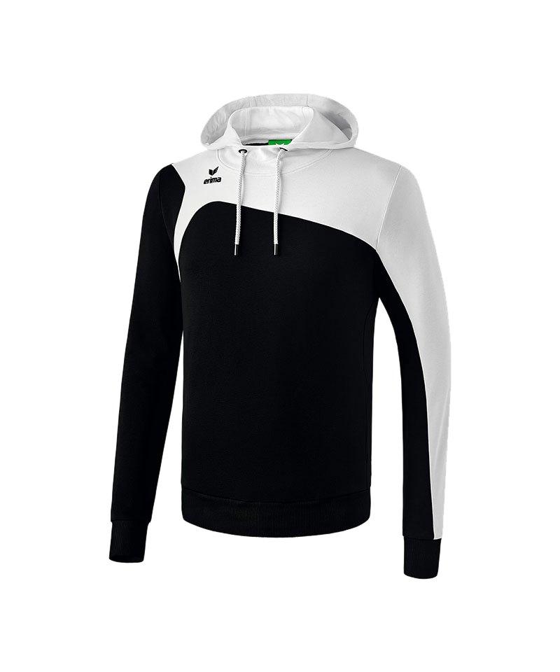 Erima Kapuzensweatshirt Club 1900 2.0 Schwarz - schwarz