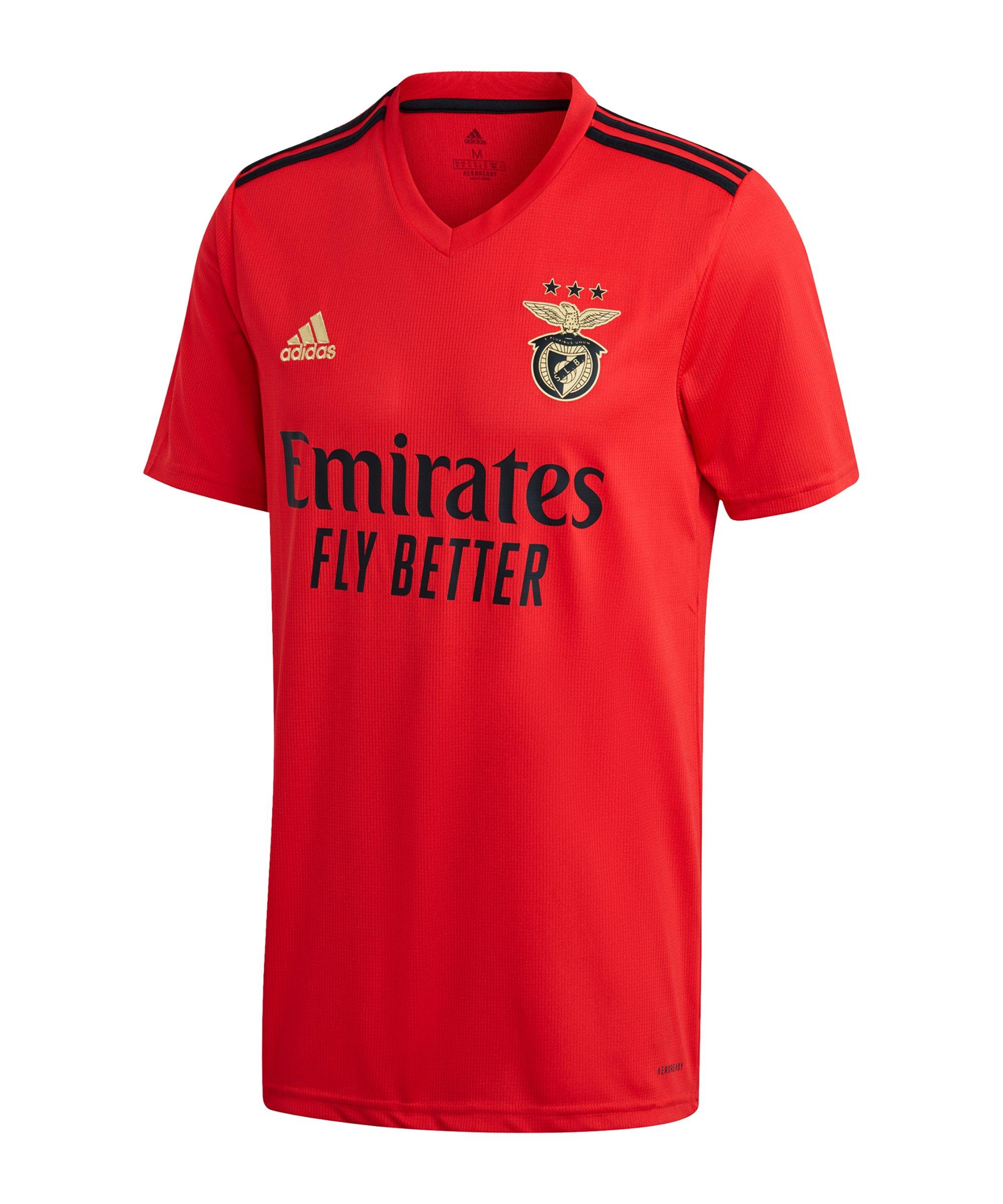 adidas Benfica Lissabon Trikot Home 2020/2021 Rot - rot